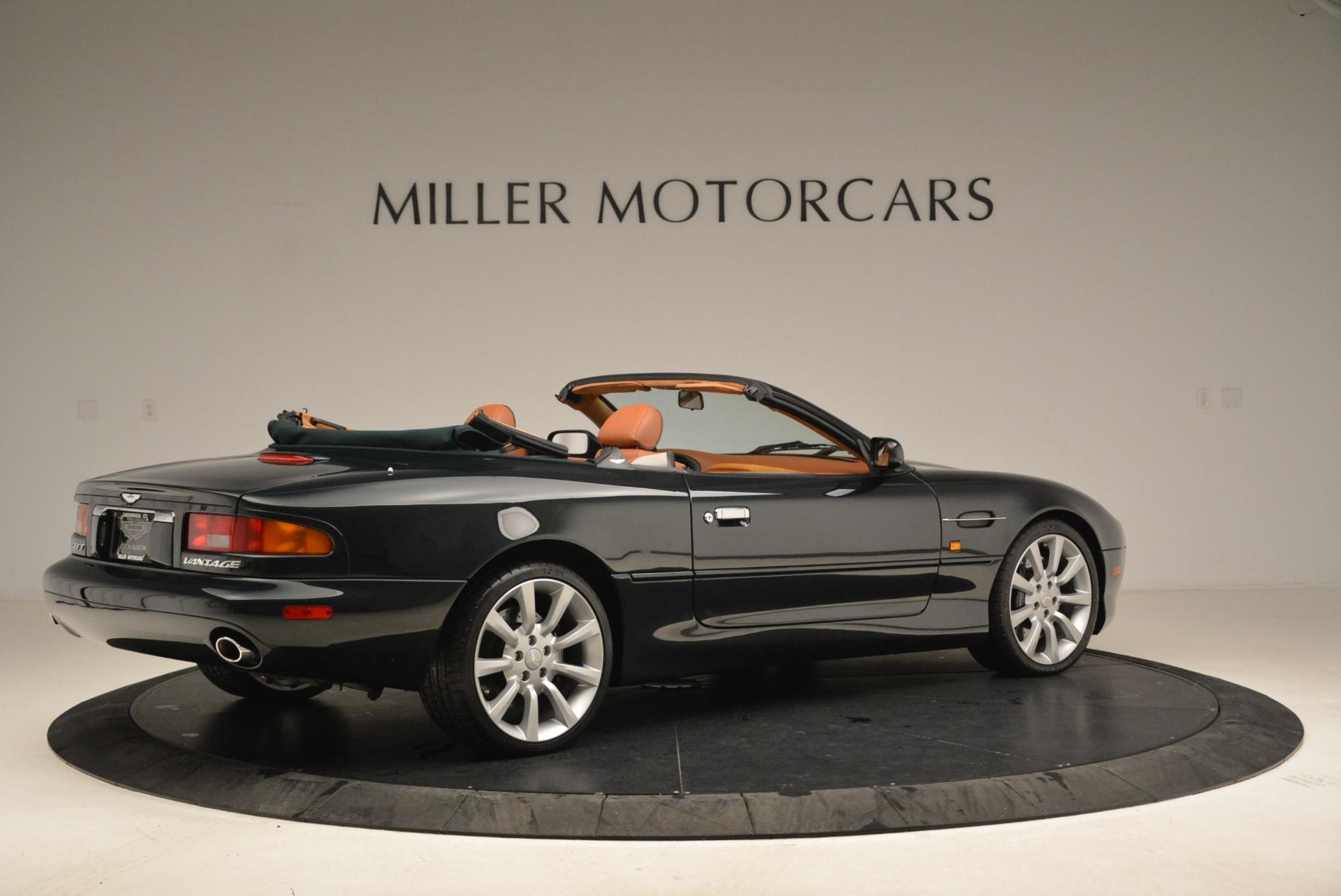Used 2003 Aston Martin DB7 Vantage Volante For Sale In Greenwich, CT. Alfa Romeo of Greenwich, 7307 2084_p8