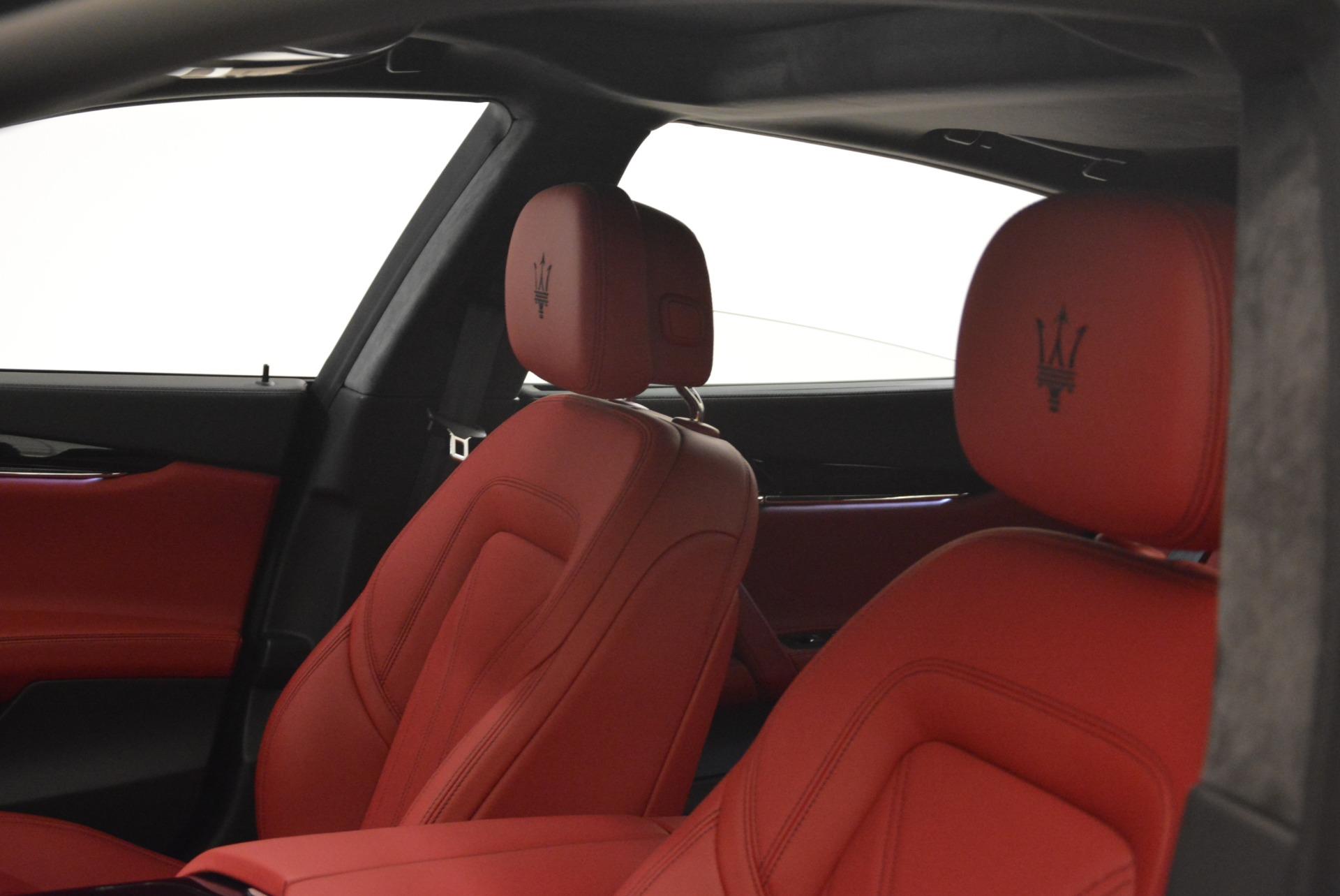 New 2018 Maserati Quattroporte S Q4 GranLusso For Sale In Greenwich, CT. Alfa Romeo of Greenwich, M2059 2085_p17