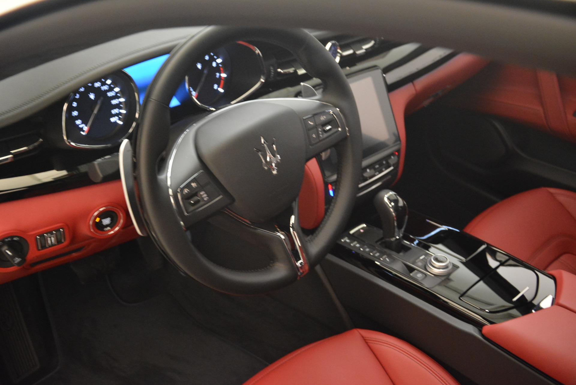 New 2018 Maserati Quattroporte S Q4 GranLusso For Sale In Greenwich, CT. Alfa Romeo of Greenwich, M2059 2085_p18
