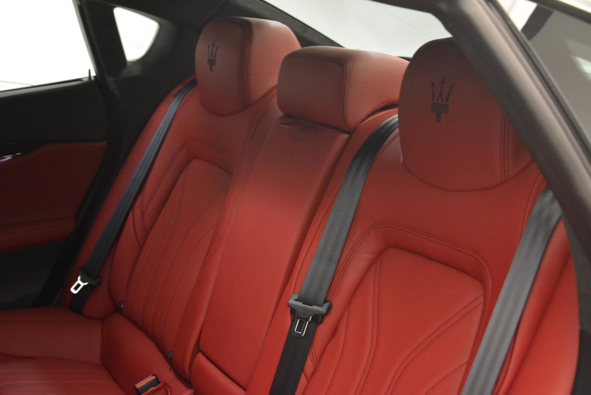 New 2018 Maserati Quattroporte S Q4 GranLusso For Sale In Greenwich, CT. Alfa Romeo of Greenwich, M2059 2085_p23