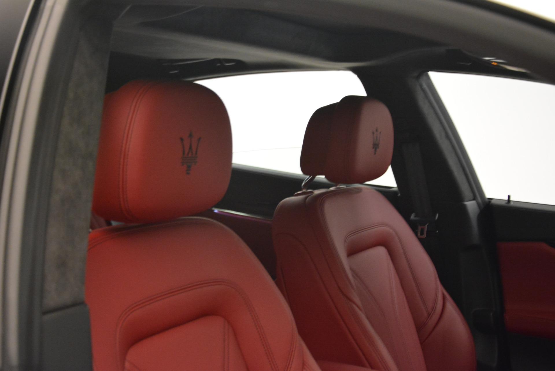 New 2018 Maserati Quattroporte S Q4 GranLusso For Sale In Greenwich, CT. Alfa Romeo of Greenwich, M2059 2085_p26