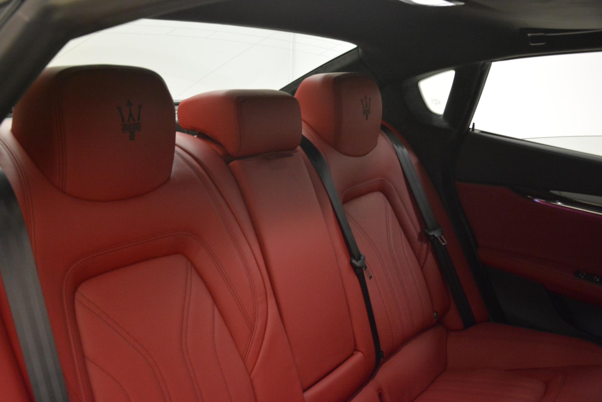 New 2018 Maserati Quattroporte S Q4 GranLusso For Sale In Greenwich, CT. Alfa Romeo of Greenwich, M2059 2085_p29
