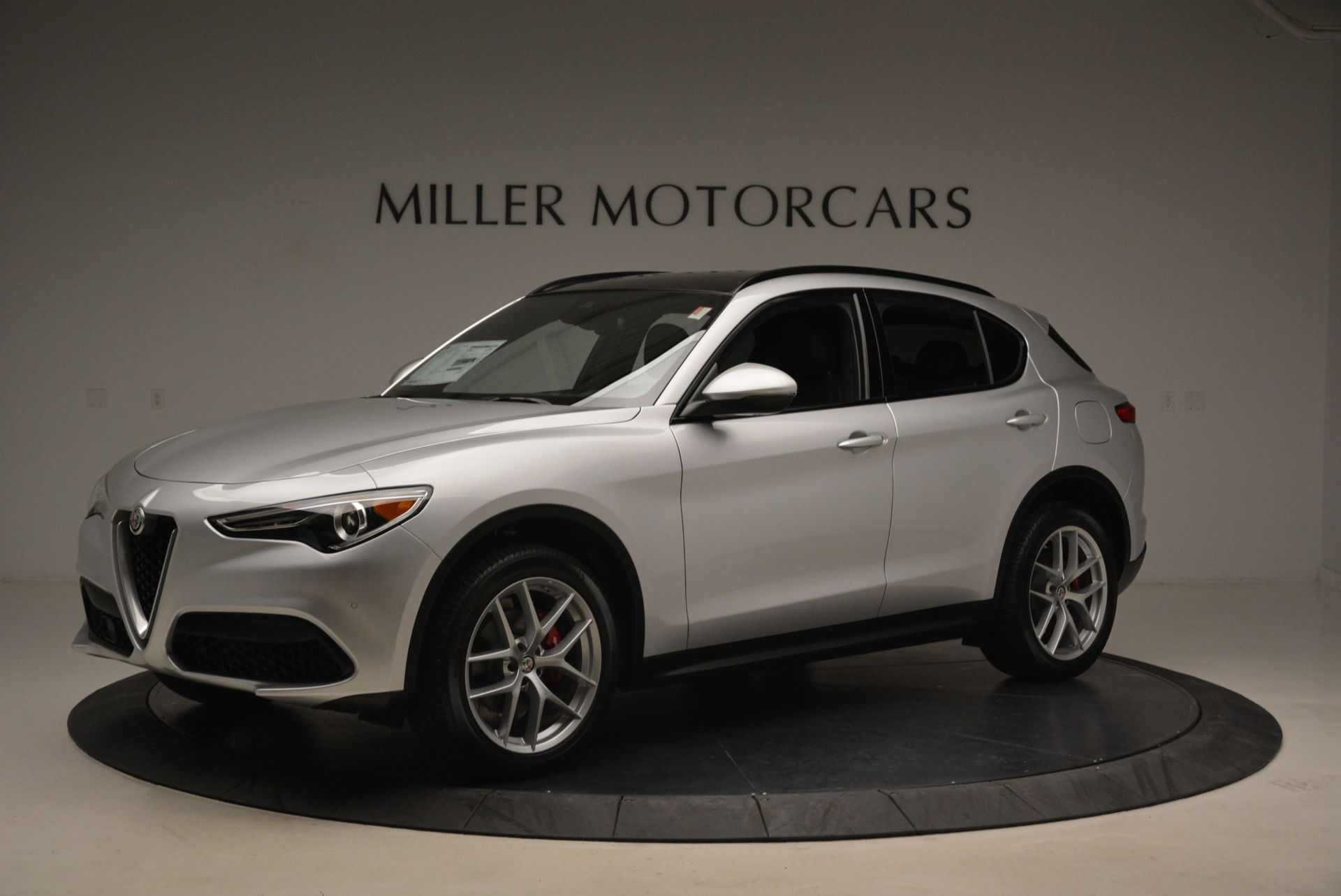 New 2018 Alfa Romeo Stelvio Ti Sport Q4 For Sale In Greenwich, CT. Alfa Romeo of Greenwich, L361 2086_p2