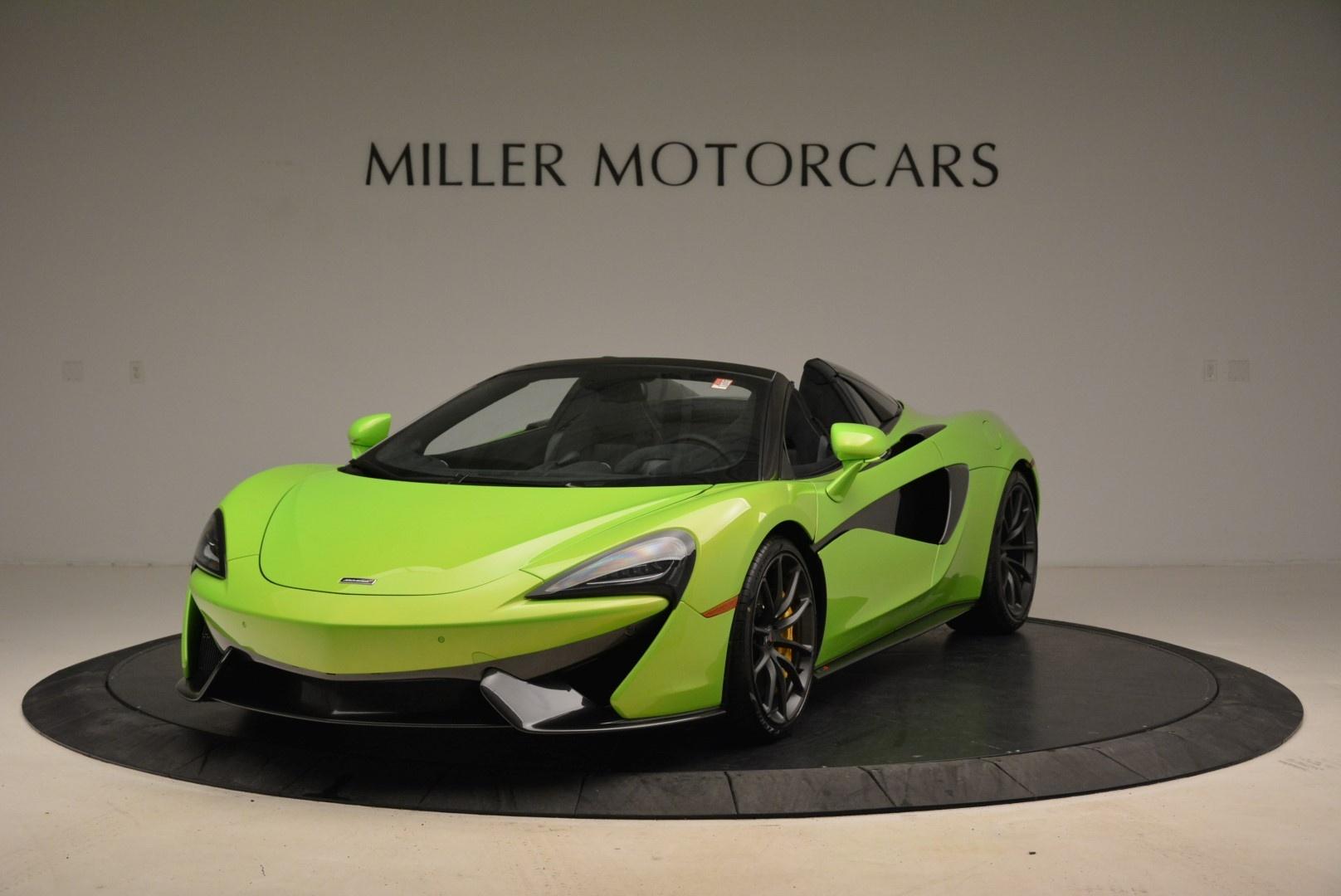 New 2018 McLaren 570S Spider For Sale In Greenwich, CT. Alfa Romeo of Greenwich, MC339 2087_main