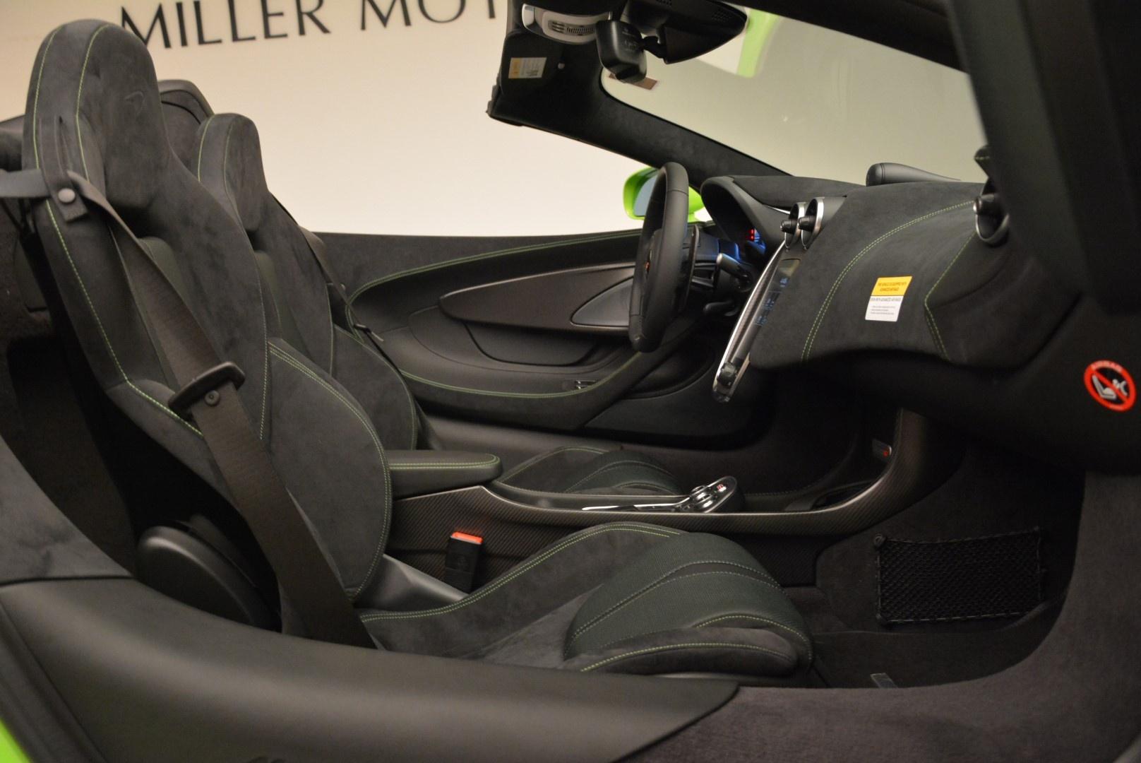 New 2018 McLaren 570S Spider For Sale In Greenwich, CT. Alfa Romeo of Greenwich, MC339 2087_p30
