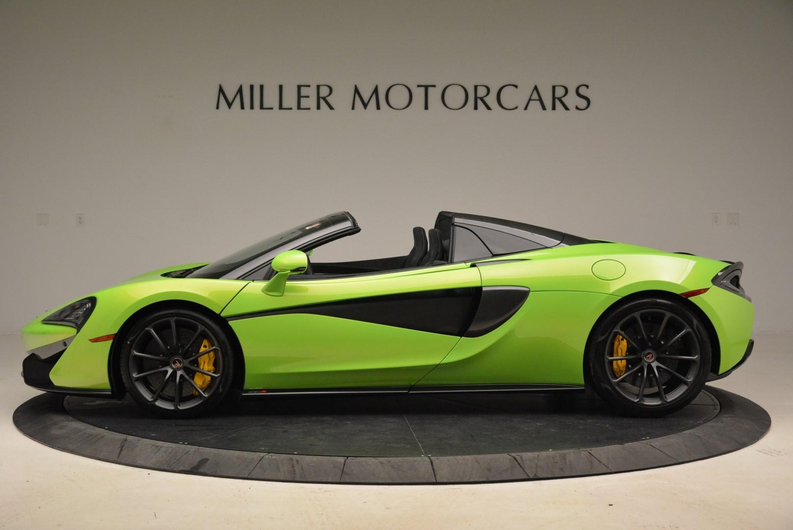 New 2018 McLaren 570S Spider For Sale In Greenwich, CT. Alfa Romeo of Greenwich, MC339 2087_p3
