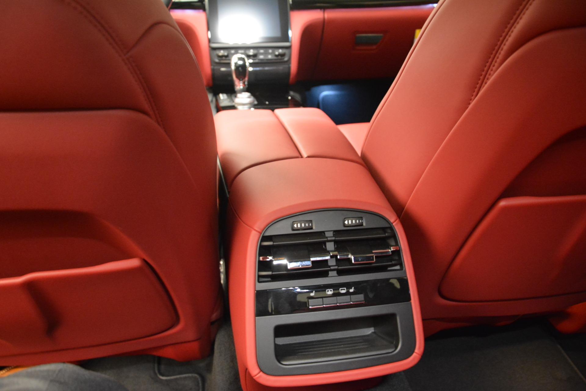 New 2018 Maserati Quattroporte S Q4 GranLusso For Sale In Greenwich, CT. Alfa Romeo of Greenwich, M2060 2088_p23