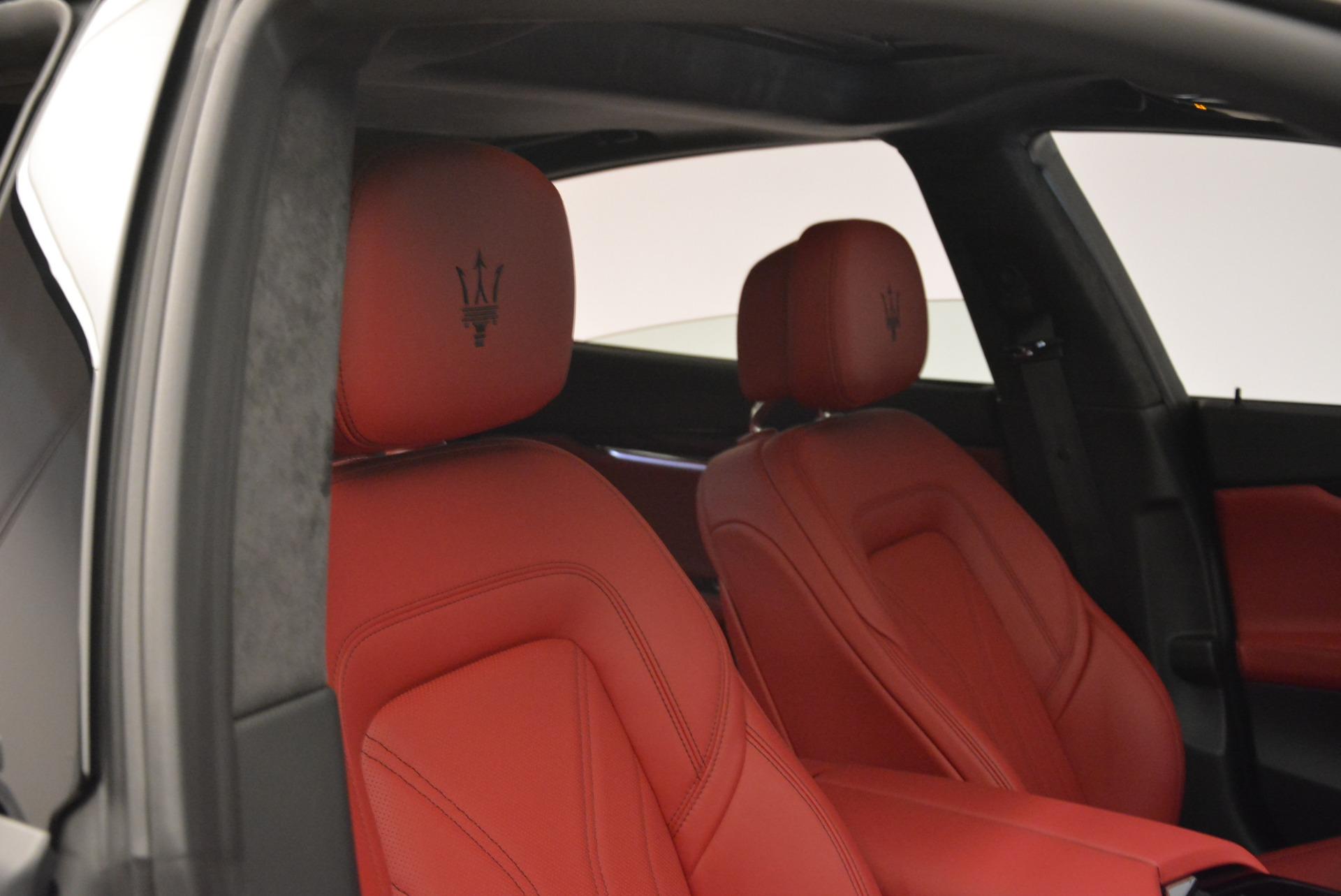New 2018 Maserati Quattroporte S Q4 GranLusso For Sale In Greenwich, CT. Alfa Romeo of Greenwich, M2060 2088_p25