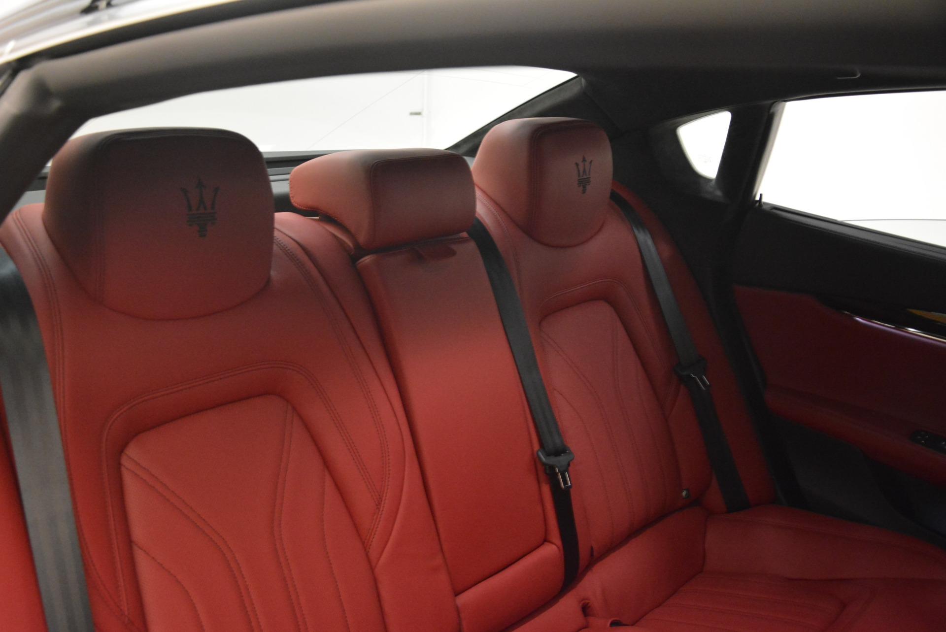 New 2018 Maserati Quattroporte S Q4 GranLusso For Sale In Greenwich, CT. Alfa Romeo of Greenwich, M2060 2088_p29