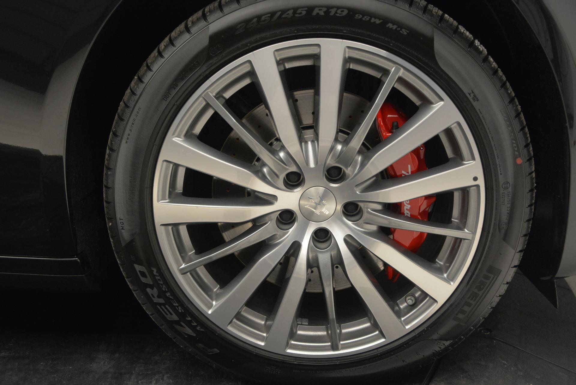 New 2018 Maserati Quattroporte S Q4 For Sale In Greenwich, CT. Alfa Romeo of Greenwich, W574 2091_p29