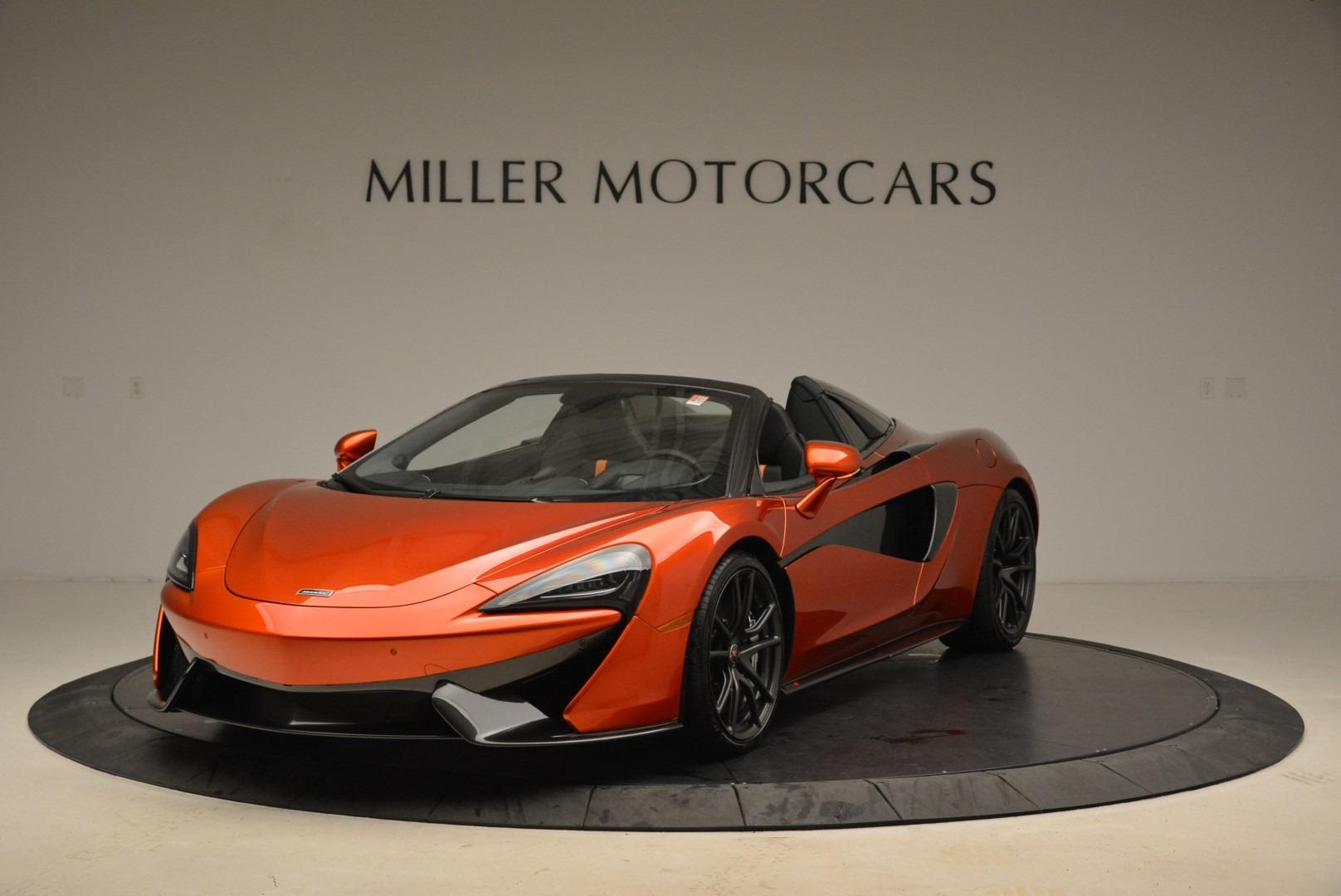 New 2018 McLaren 570S Spider For Sale In Greenwich, CT. Alfa Romeo of Greenwich, MC342 2098_main