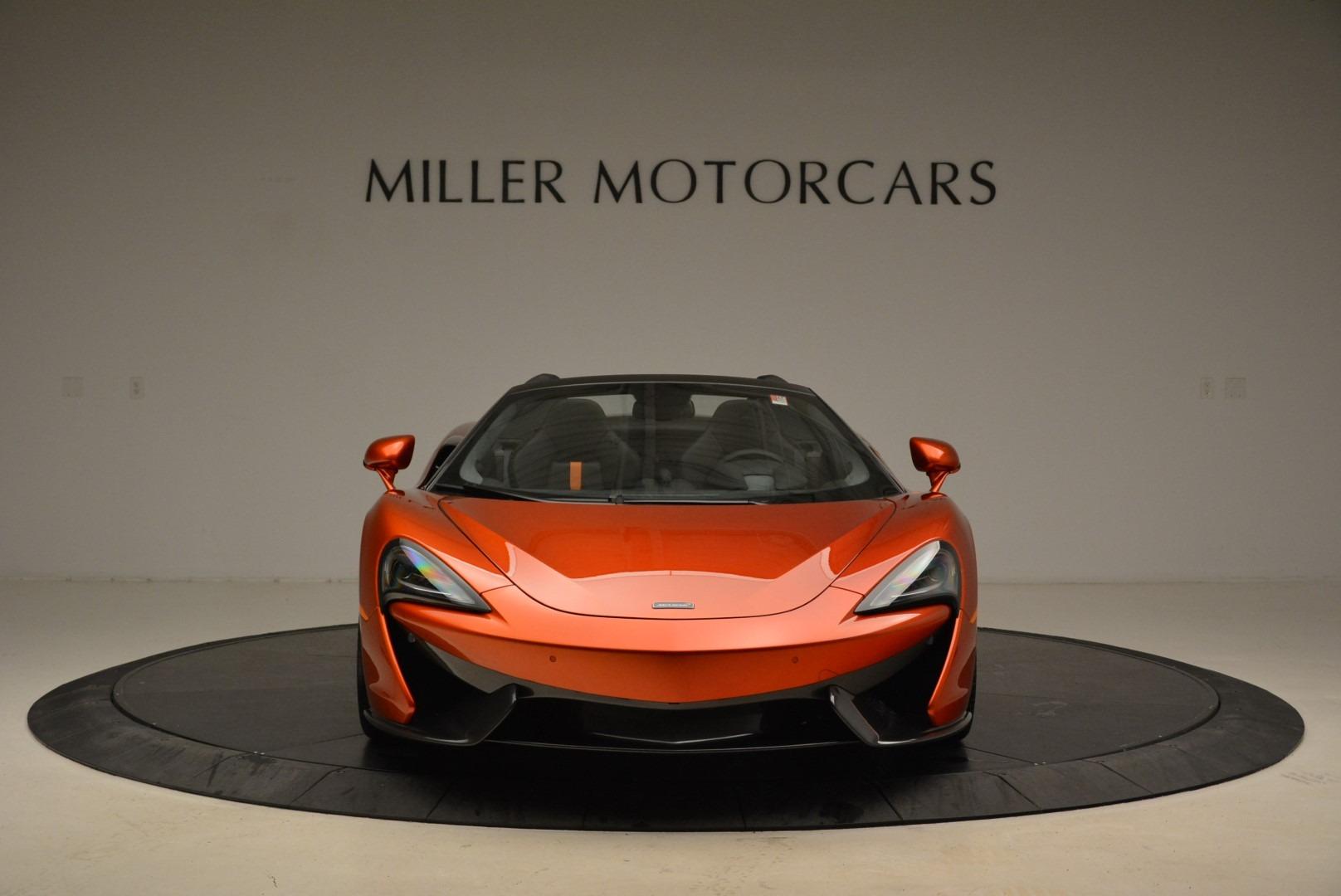 New 2018 McLaren 570S Spider For Sale In Greenwich, CT. Alfa Romeo of Greenwich, MC342 2098_p12