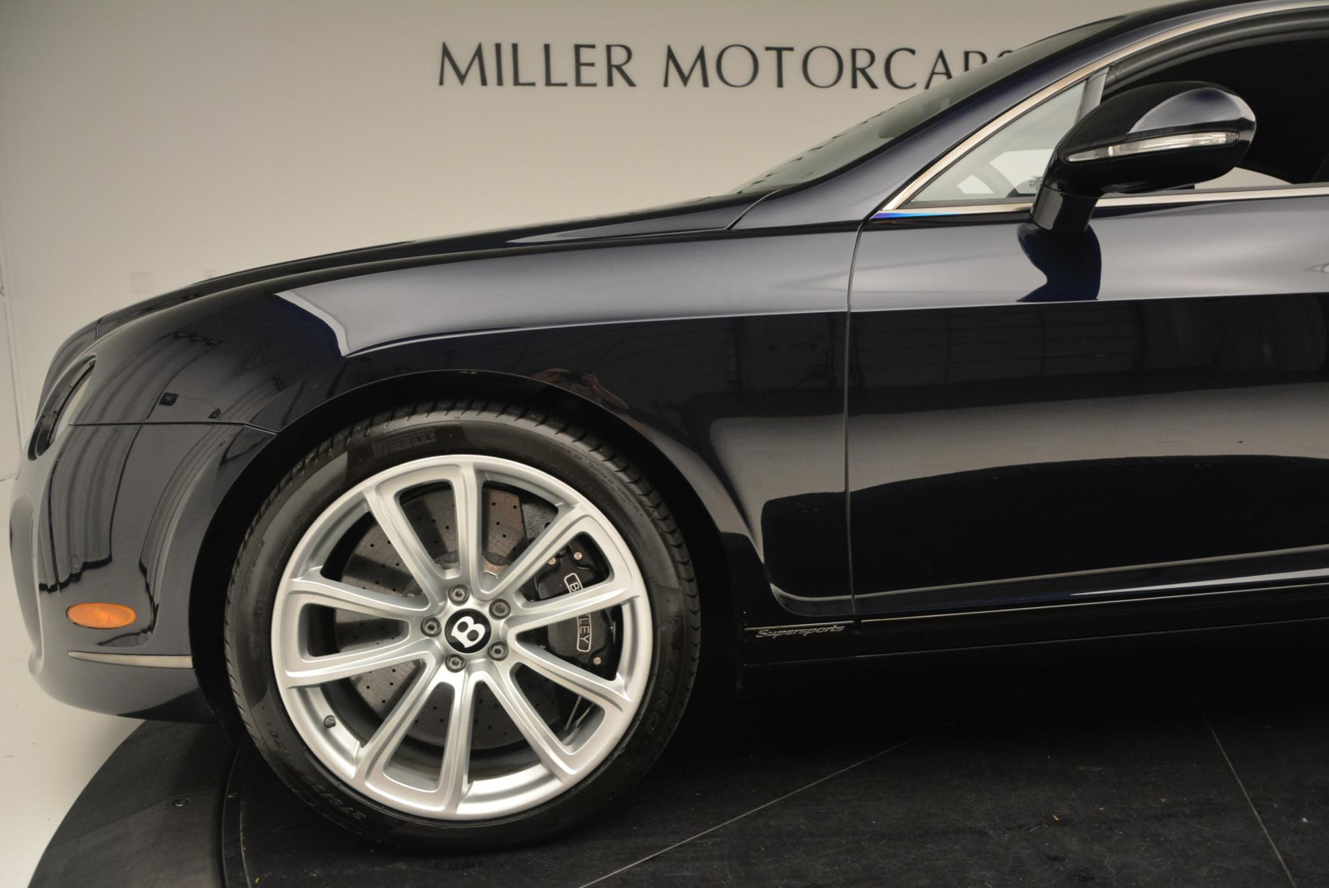 Used 2010 Bentley Continental Supersports  For Sale In Greenwich, CT. Alfa Romeo of Greenwich, B1073A 21_p18