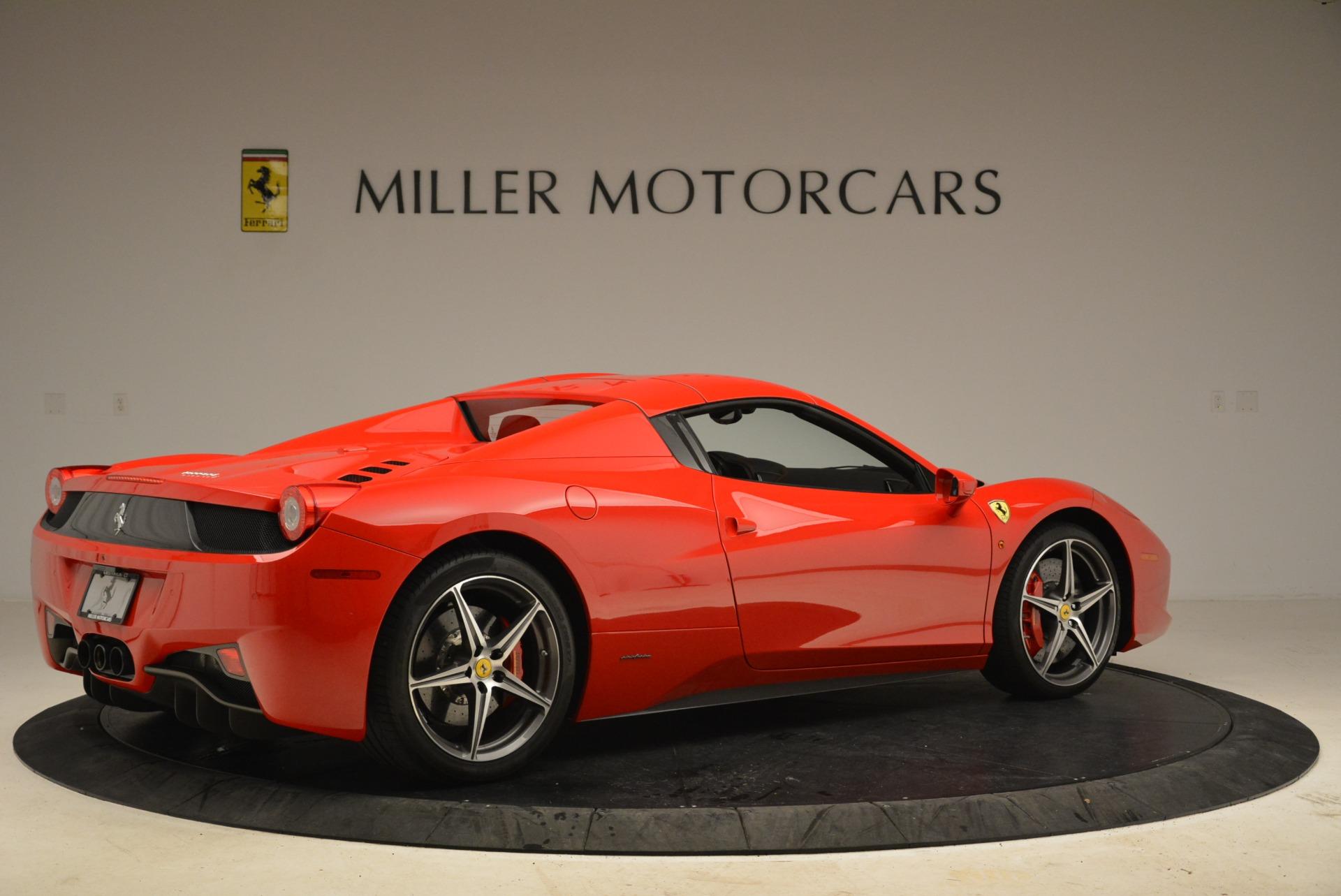 Used 2014 Ferrari 458 Spider  For Sale In Greenwich, CT. Alfa Romeo of Greenwich, 4588 2100_p20