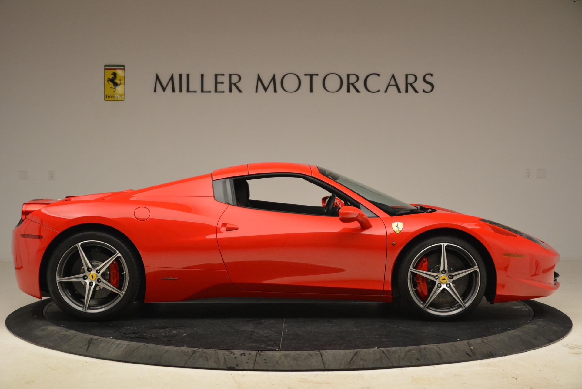 Used 2014 Ferrari 458 Spider  For Sale In Greenwich, CT. Alfa Romeo of Greenwich, 4588 2100_p21