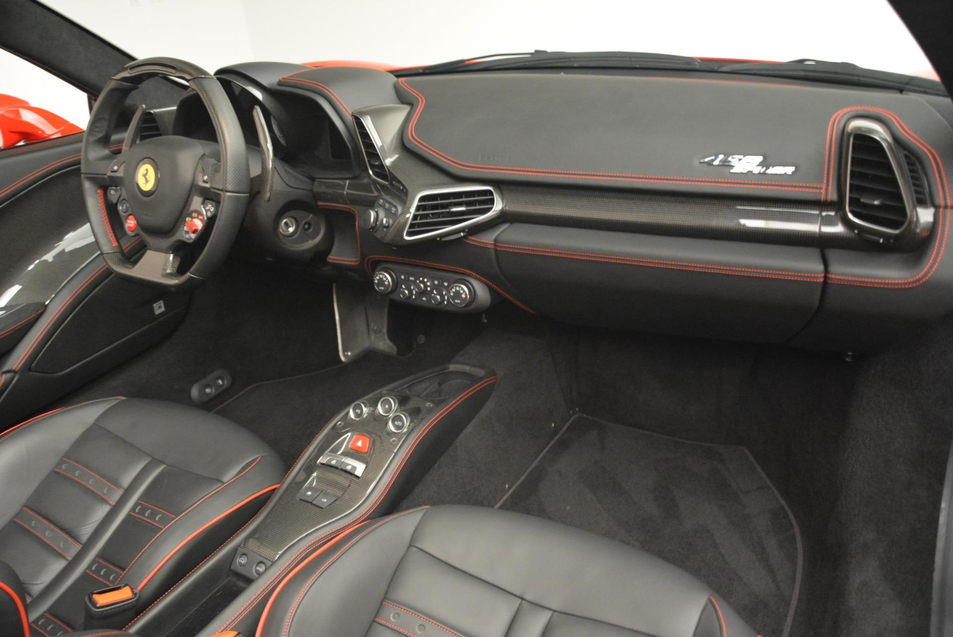 Used 2014 Ferrari 458 Spider  For Sale In Greenwich, CT. Alfa Romeo of Greenwich, 4588 2100_p29