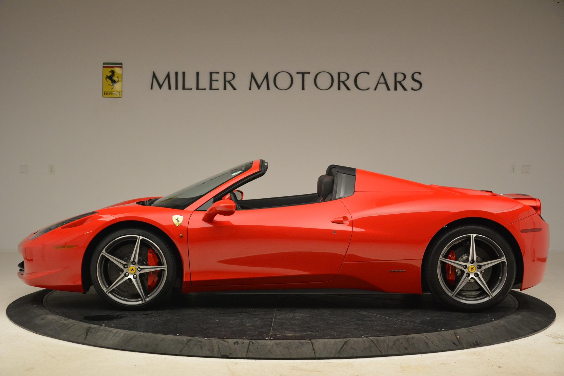 Used 2014 Ferrari 458 Spider  For Sale In Greenwich, CT. Alfa Romeo of Greenwich, 4588 2100_p3