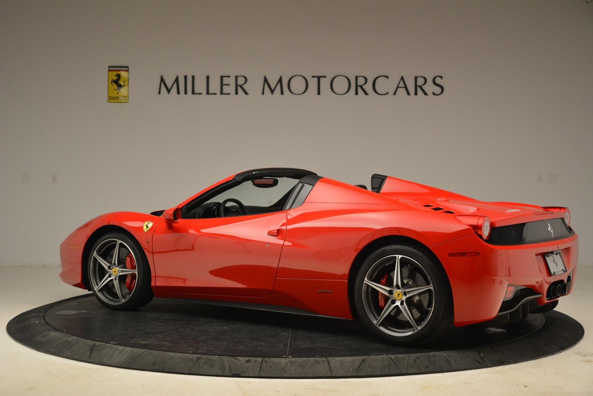 Used 2014 Ferrari 458 Spider  For Sale In Greenwich, CT. Alfa Romeo of Greenwich, 4588 2100_p4