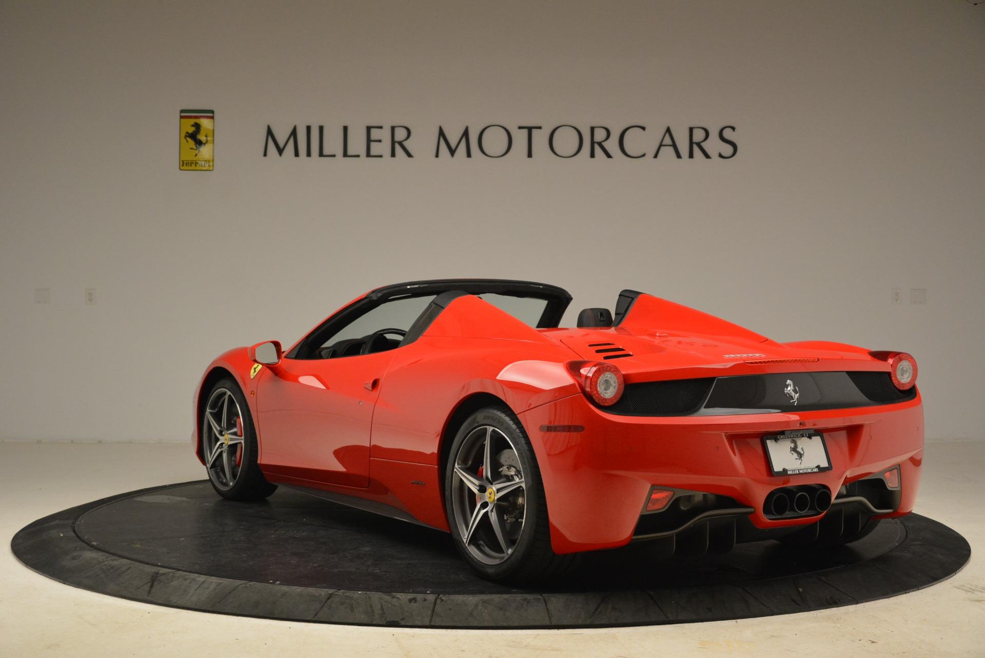 Used 2014 Ferrari 458 Spider  For Sale In Greenwich, CT. Alfa Romeo of Greenwich, 4588 2100_p5