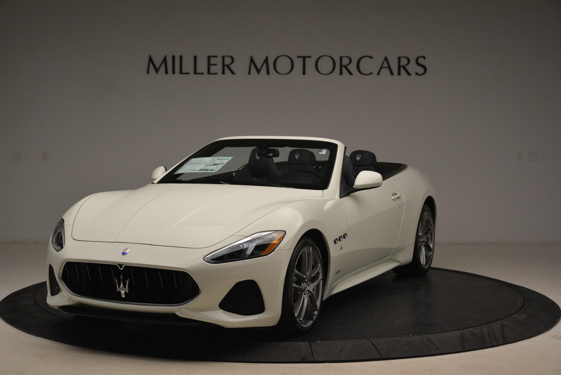 New 2018 Maserati GranTurismo Sport Convertible For Sale In Greenwich, CT. Alfa Romeo of Greenwich, M2067 2106_main