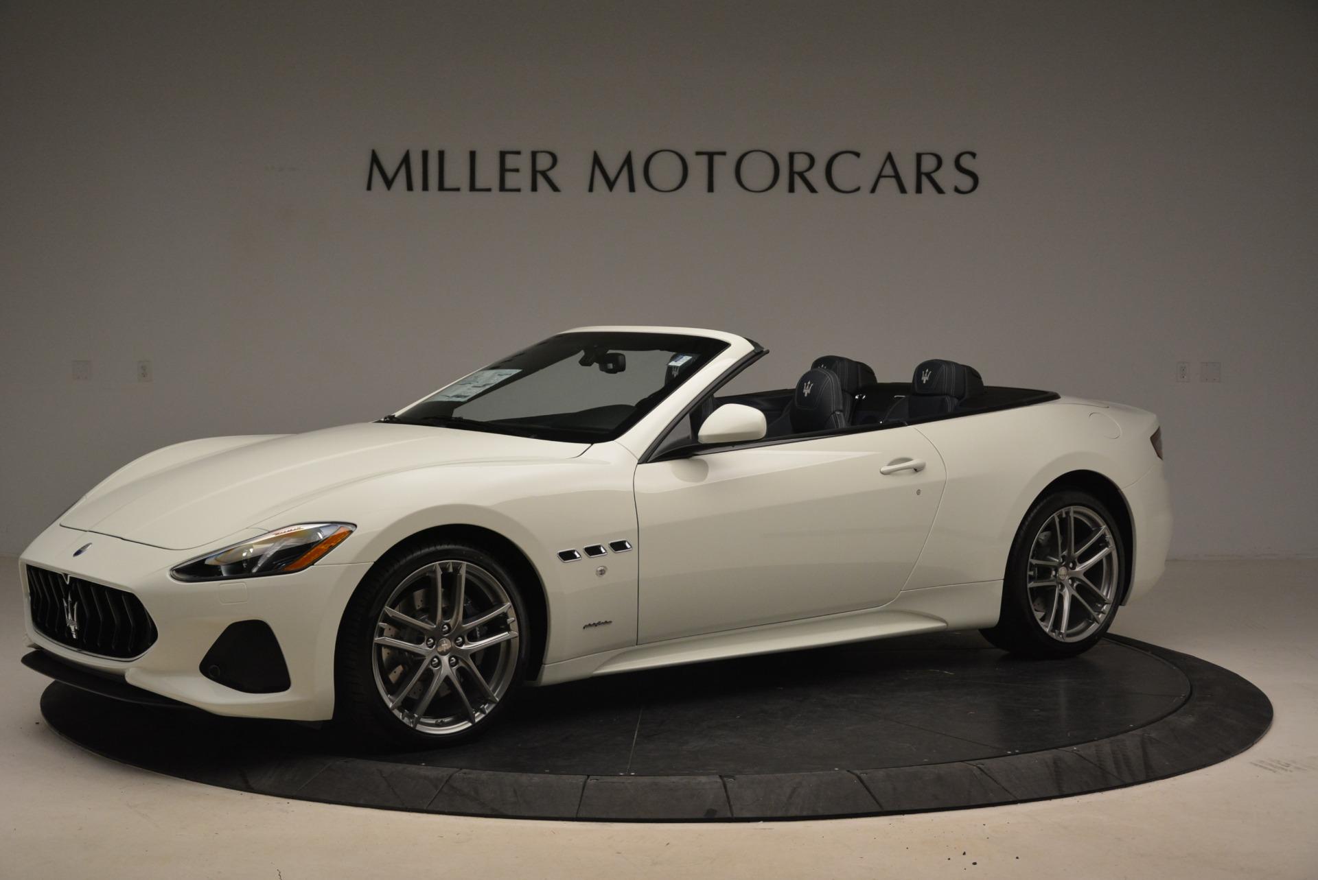 New 2018 Maserati GranTurismo Sport Convertible For Sale In Greenwich, CT. Alfa Romeo of Greenwich, M2067 2106_p2