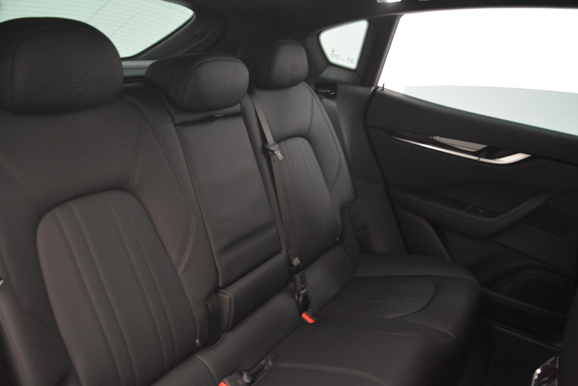 New 2018 Maserati Levante Q4 For Sale In Greenwich, CT. Alfa Romeo of Greenwich, M2076 2113_p25
