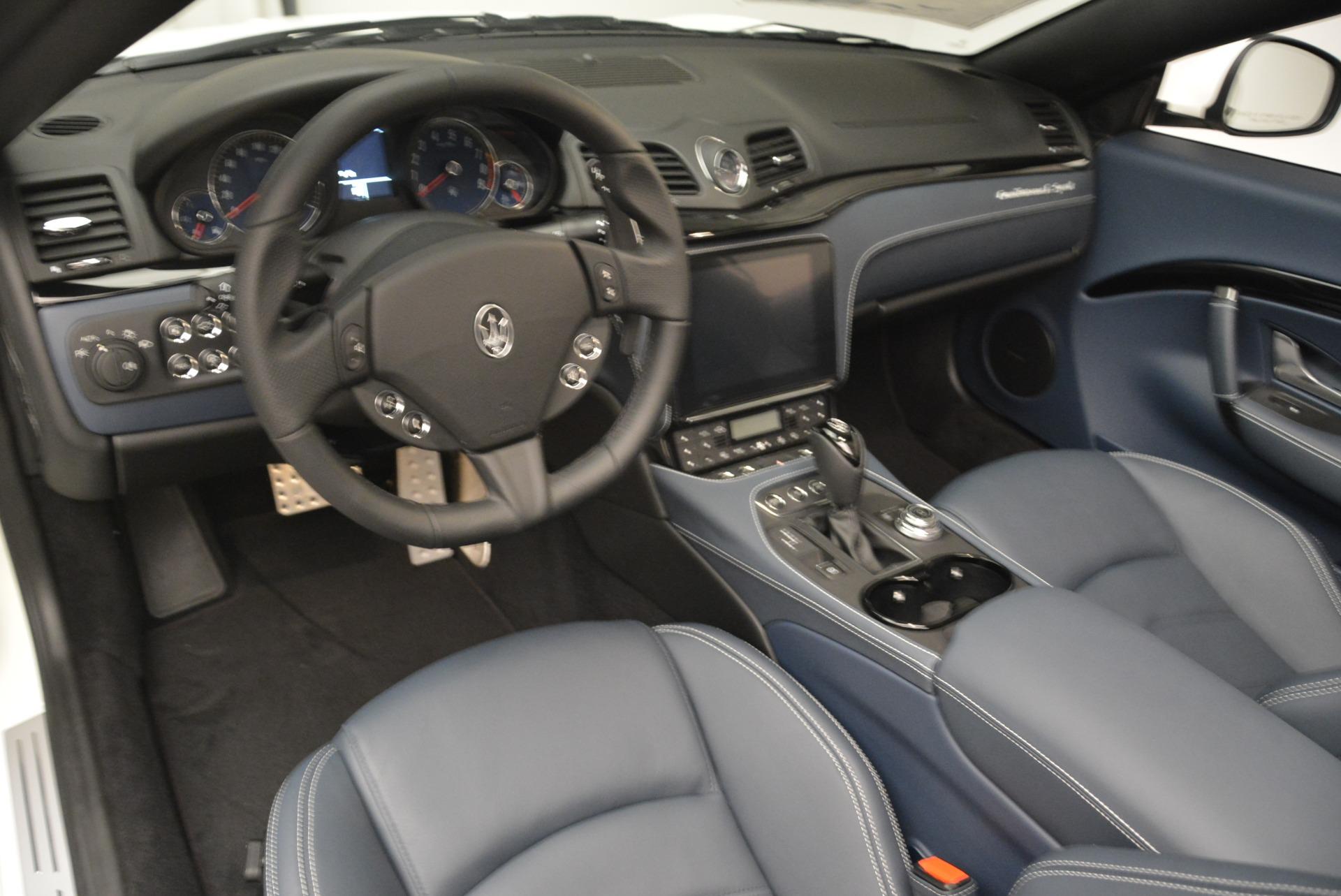 New 2018 Maserati GranTurismo Sport Convertible For Sale In Greenwich, CT. Alfa Romeo of Greenwich, W576 2120_p11