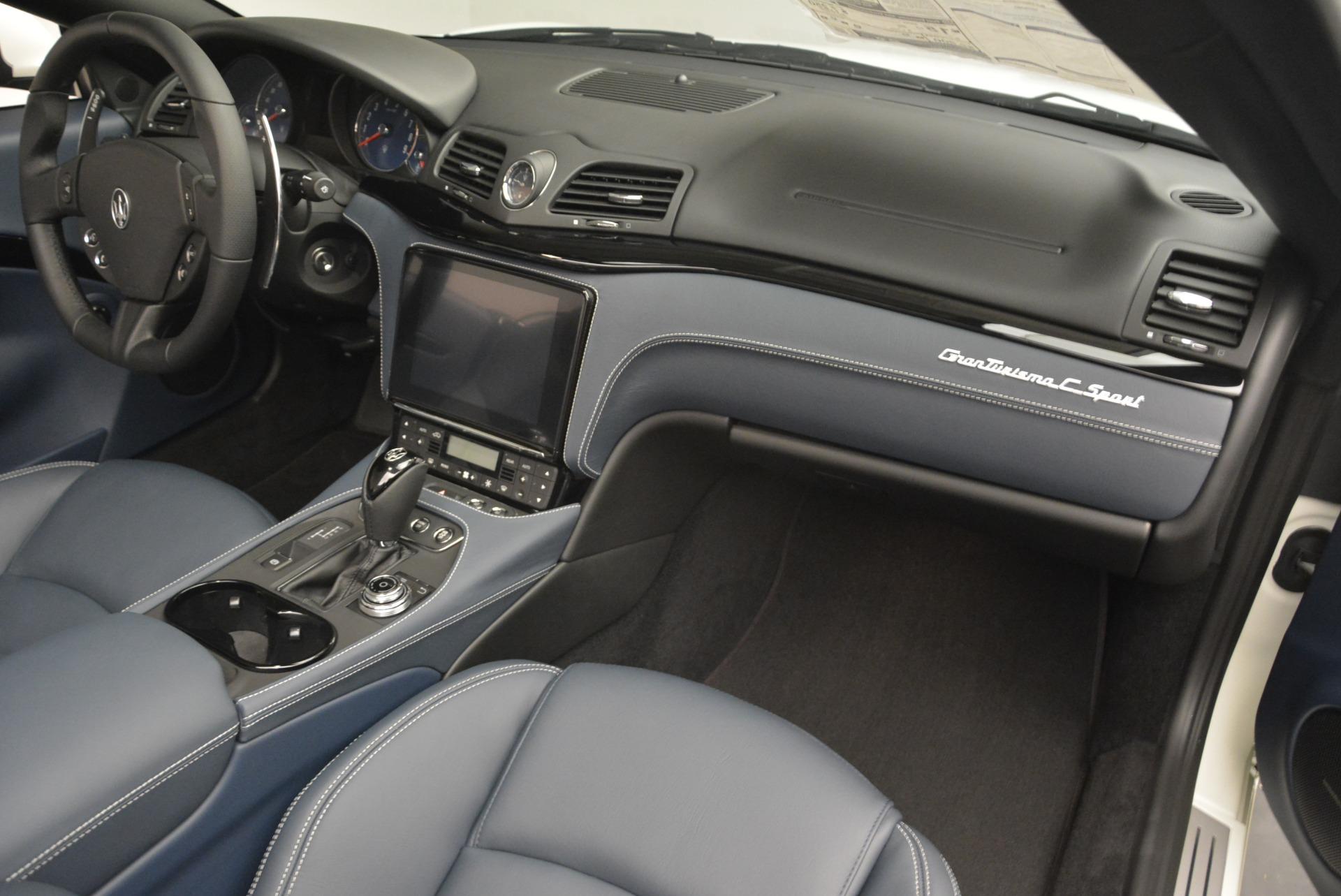 New 2018 Maserati GranTurismo Sport Convertible For Sale In Greenwich, CT. Alfa Romeo of Greenwich, W576 2120_p13