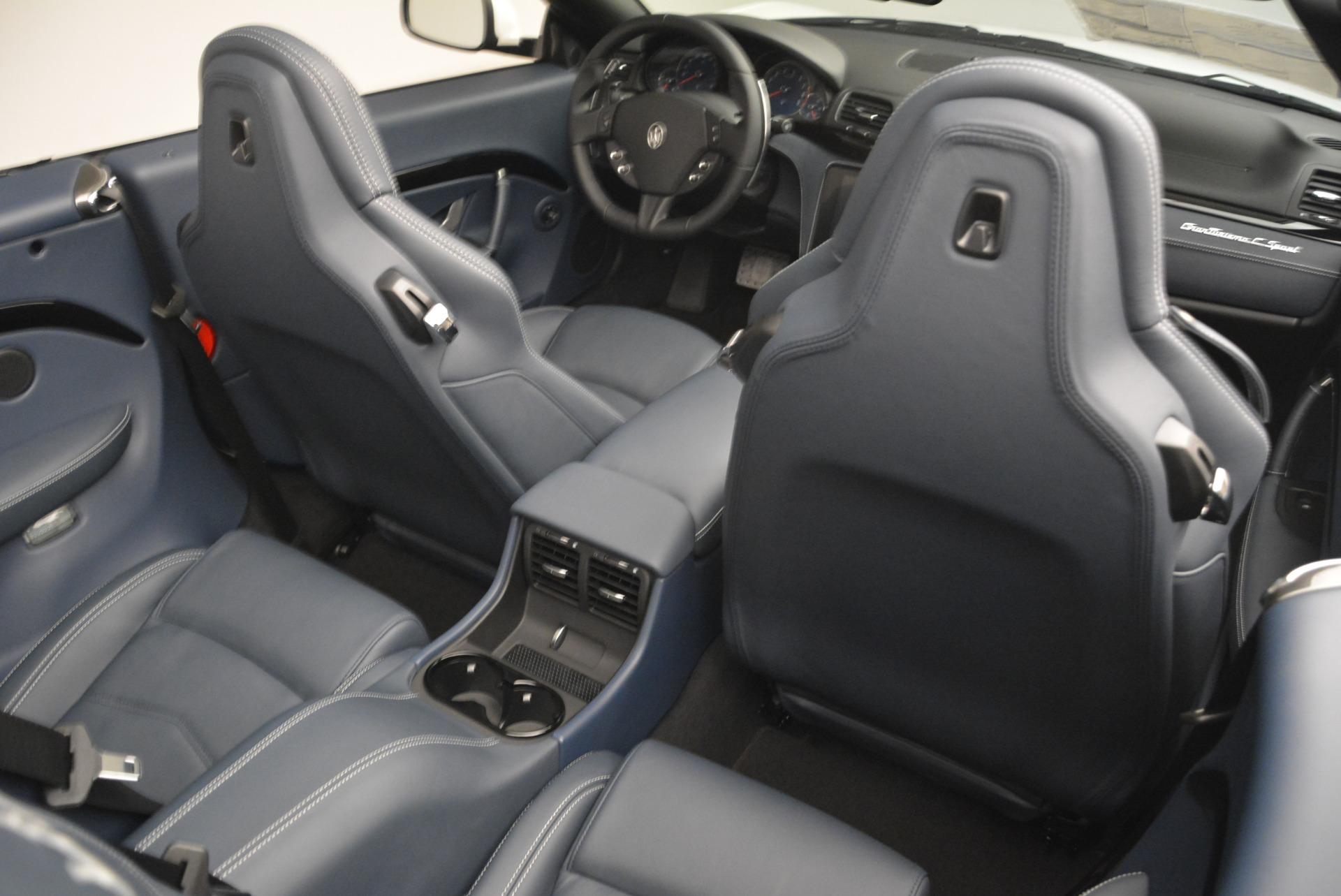 New 2018 Maserati GranTurismo Sport Convertible For Sale In Greenwich, CT. Alfa Romeo of Greenwich, W576 2120_p16