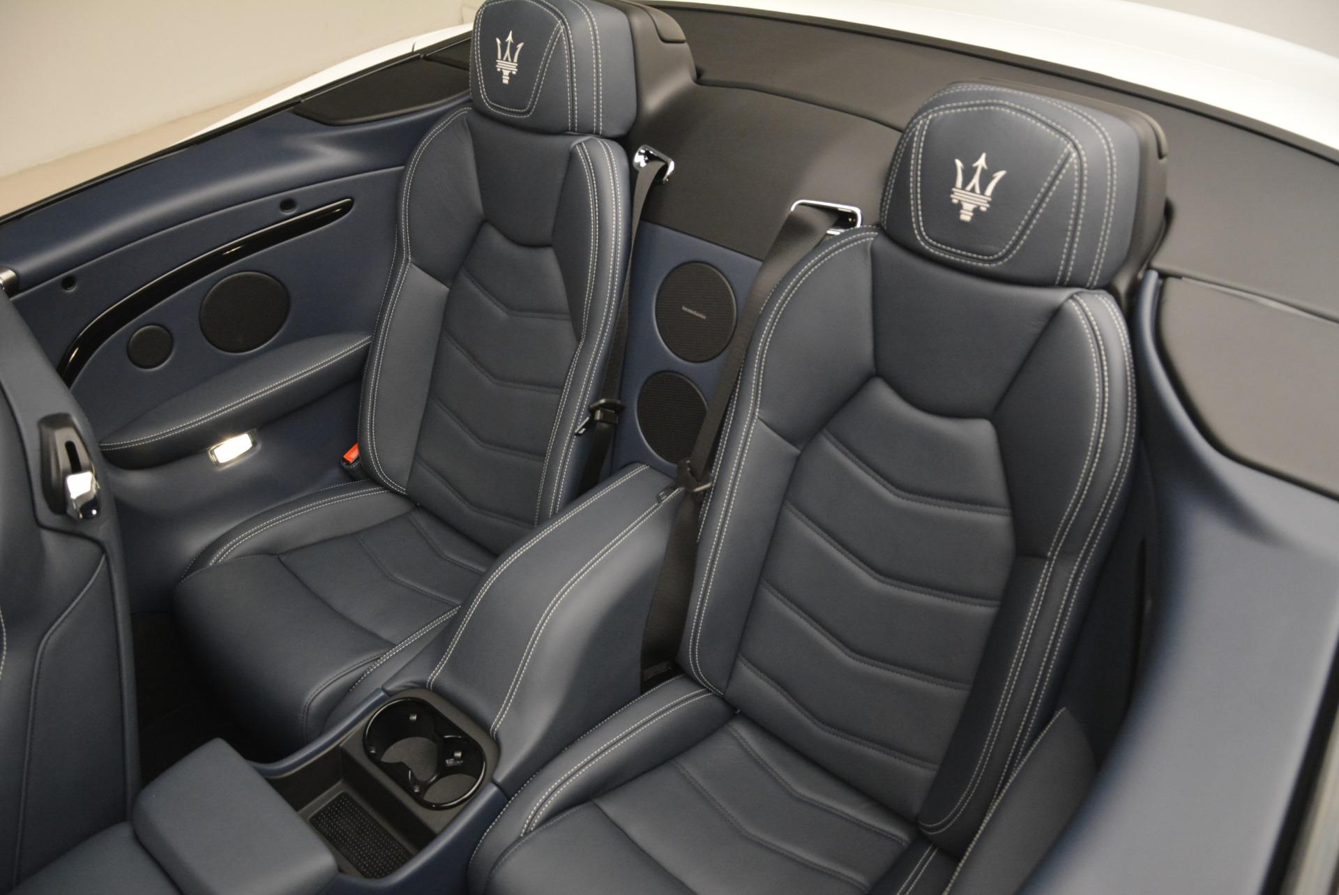 New 2018 Maserati GranTurismo Sport Convertible For Sale In Greenwich, CT. Alfa Romeo of Greenwich, W576 2120_p21
