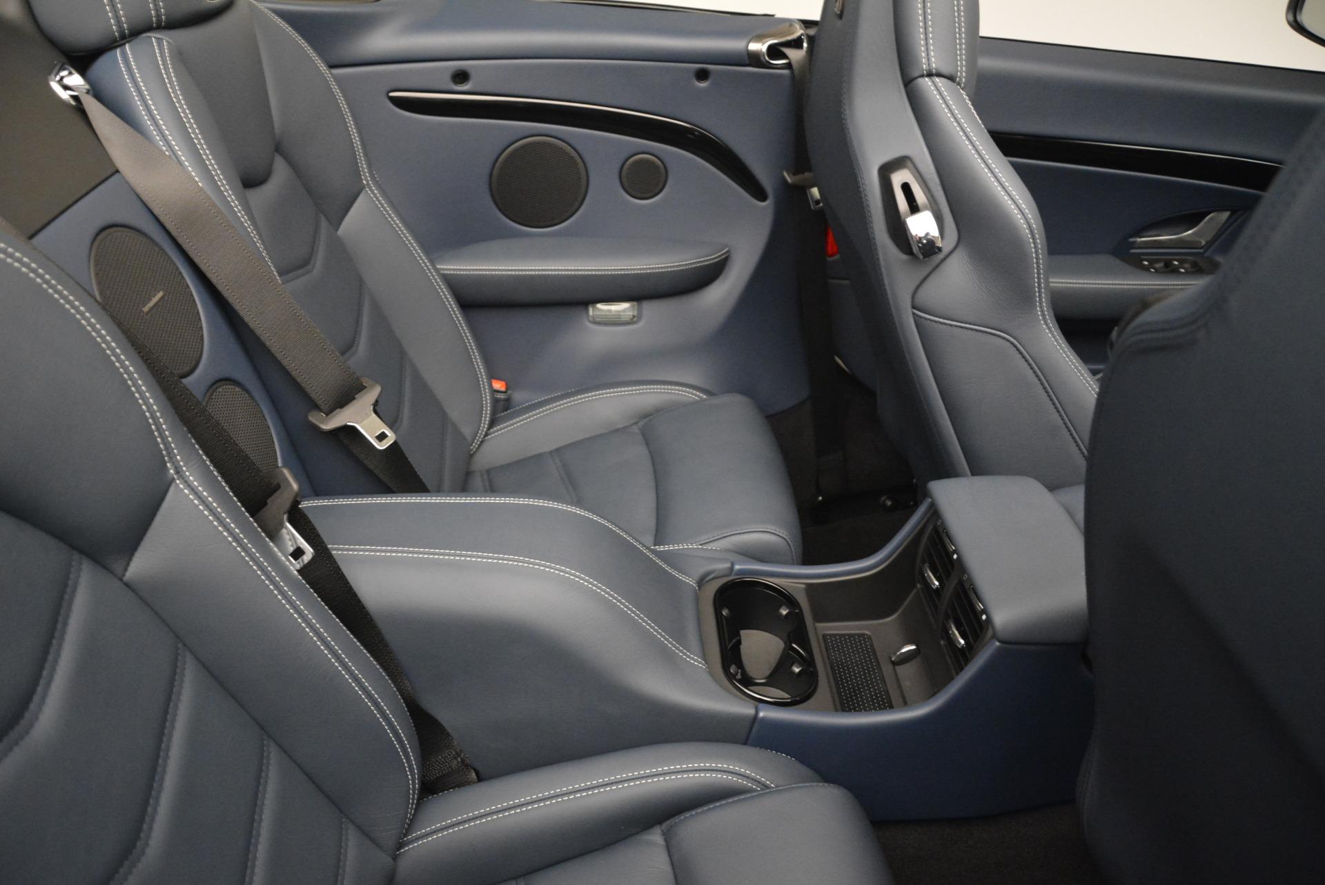 New 2018 Maserati GranTurismo Sport Convertible For Sale In Greenwich, CT. Alfa Romeo of Greenwich, W576 2120_p22
