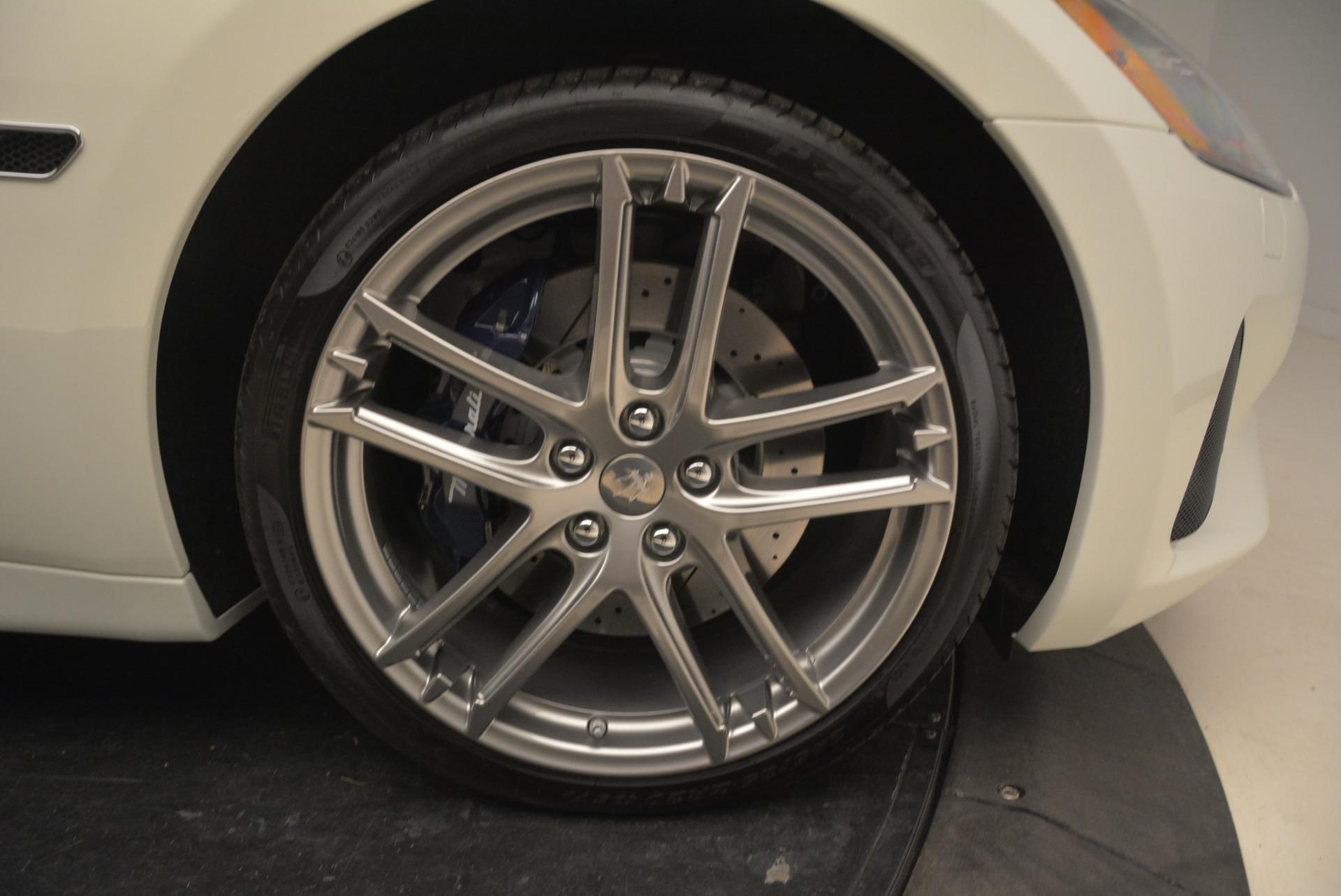 New 2018 Maserati GranTurismo Sport Convertible For Sale In Greenwich, CT. Alfa Romeo of Greenwich, W576 2120_p24