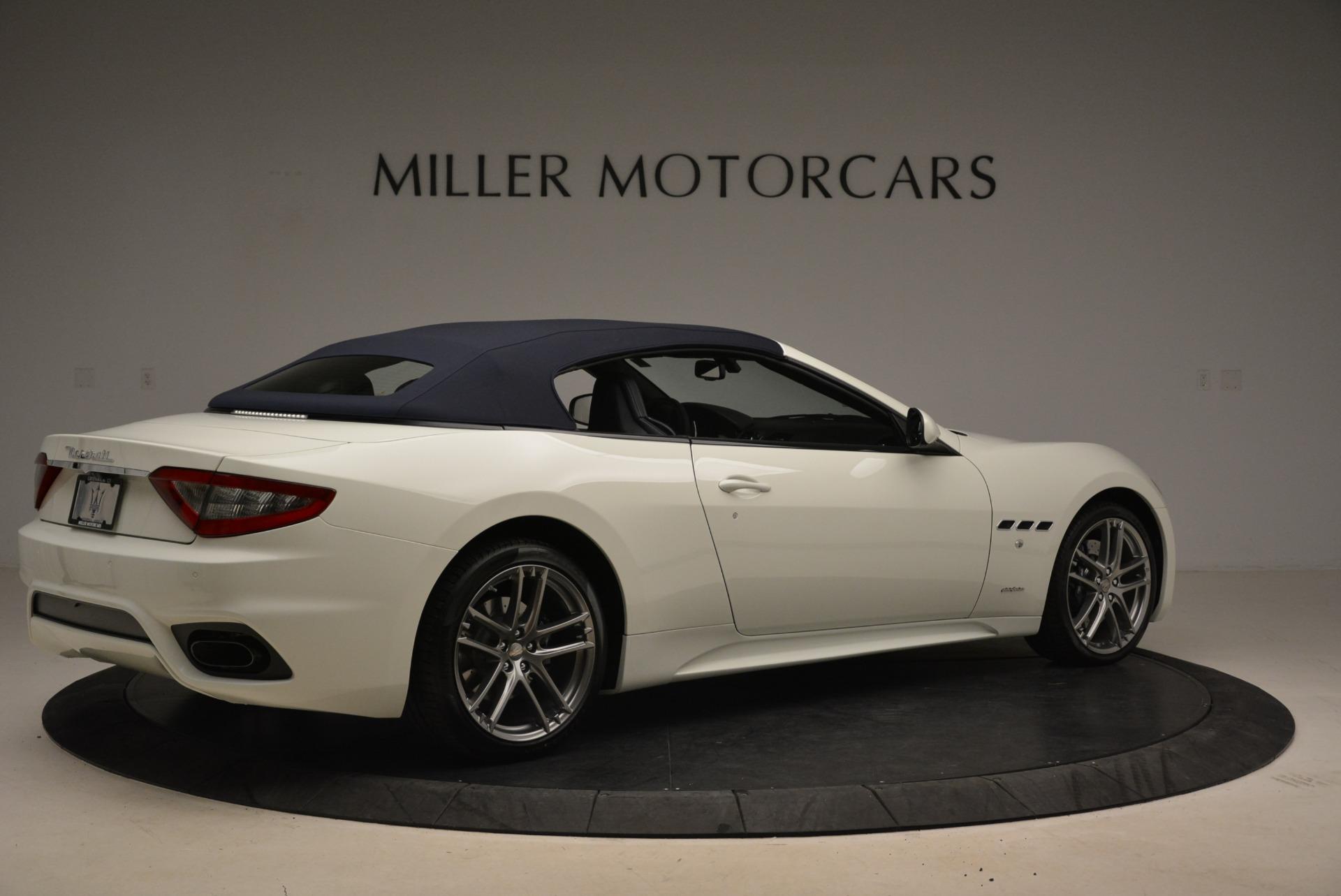 New 2018 Maserati GranTurismo Sport Convertible For Sale In Greenwich, CT. Alfa Romeo of Greenwich, W576 2120_p6