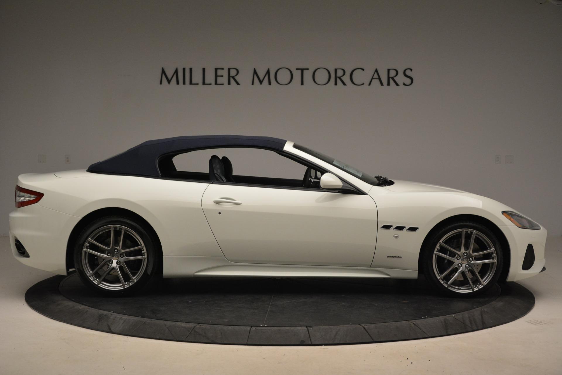 New 2018 Maserati GranTurismo Sport Convertible For Sale In Greenwich, CT. Alfa Romeo of Greenwich, W576 2120_p7