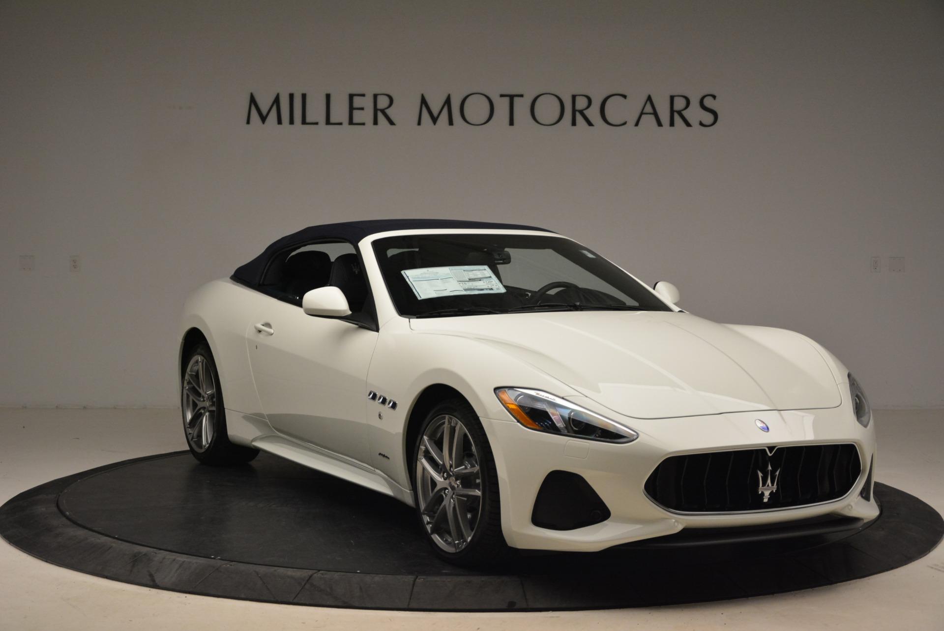 New 2018 Maserati GranTurismo Sport Convertible For Sale In Greenwich, CT. Alfa Romeo of Greenwich, W576 2120_p9