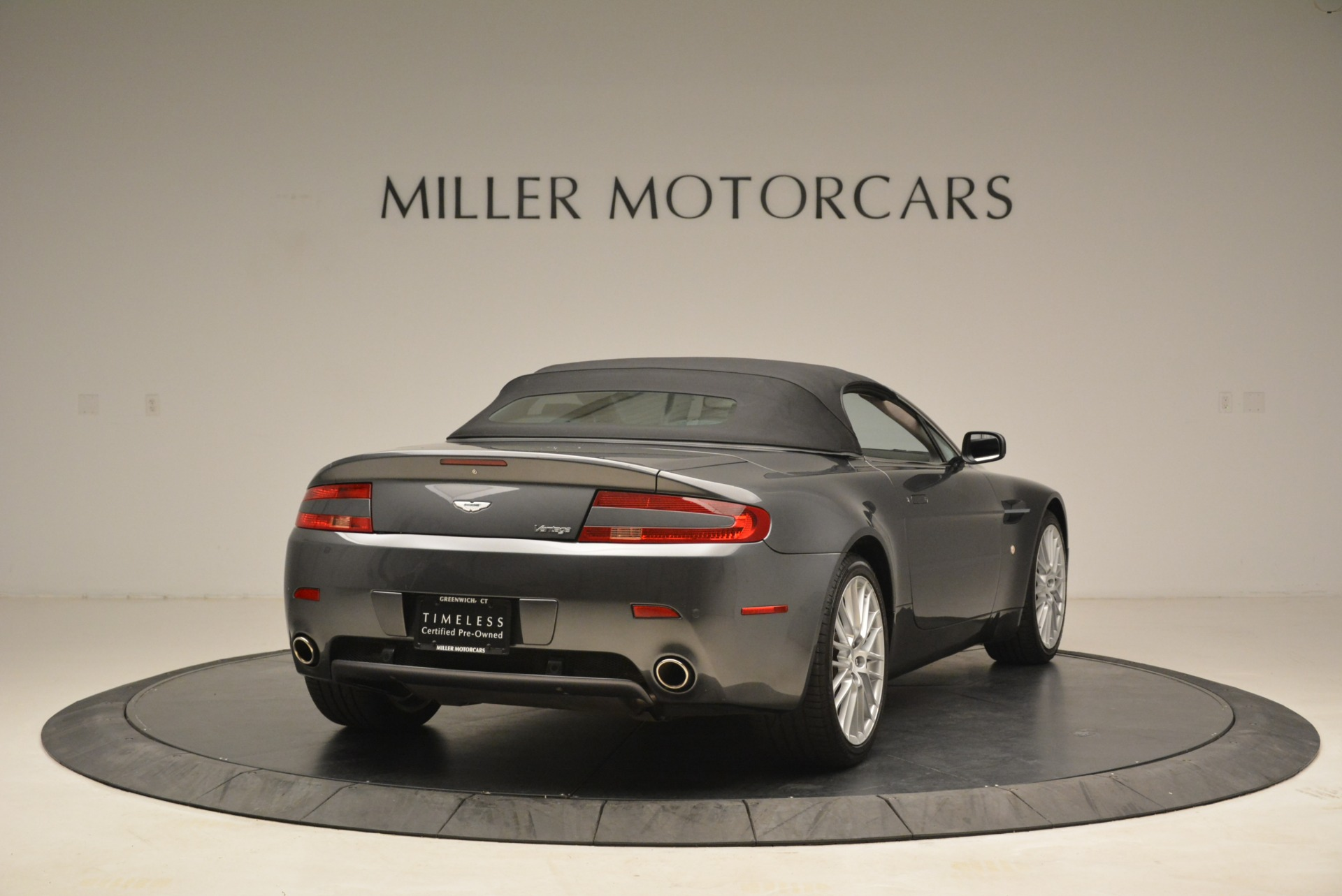 Used 2009 Aston Martin V8 Vantage Roadster For Sale In Greenwich, CT. Alfa Romeo of Greenwich, 7333 2123_p19
