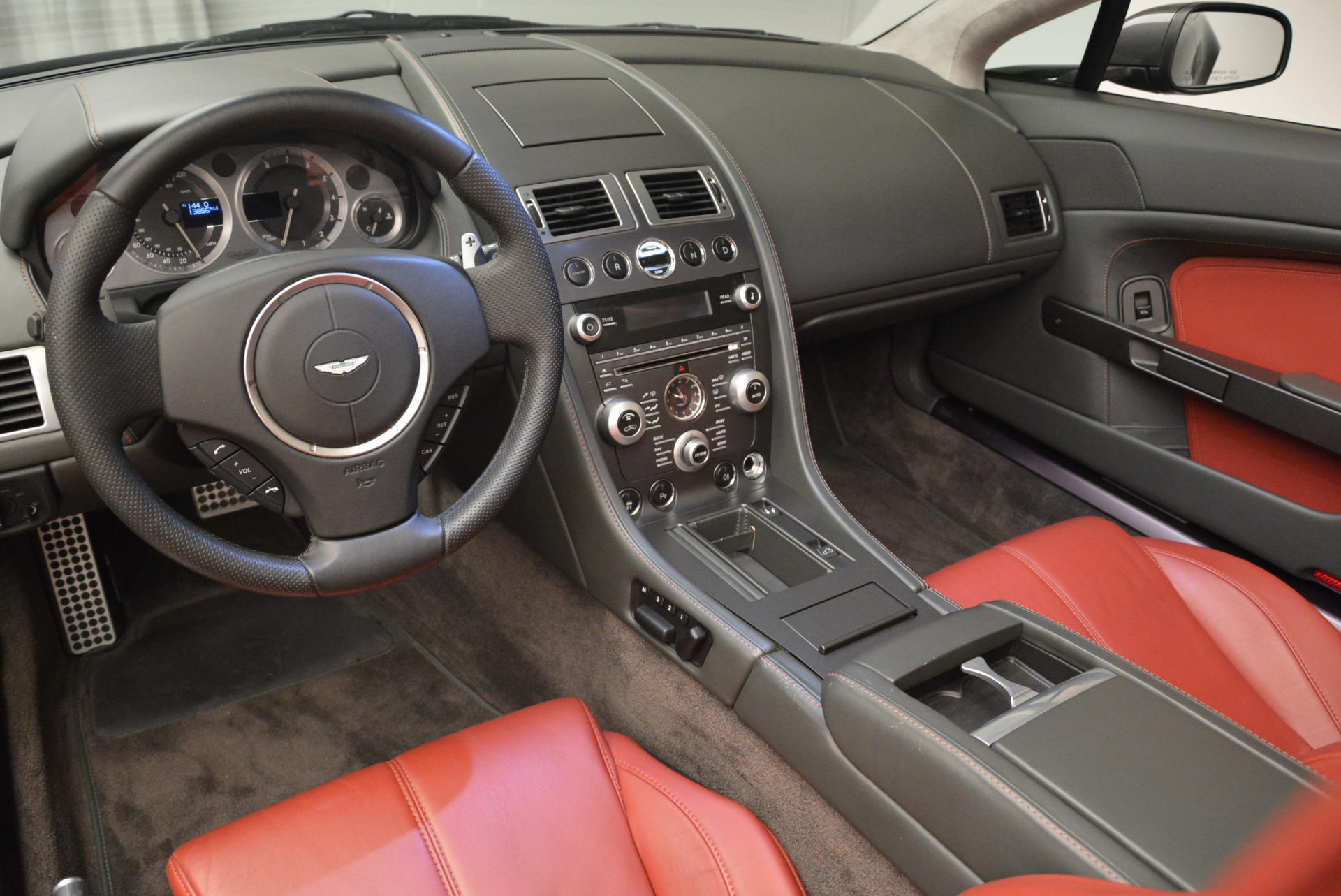 Used 2009 Aston Martin V8 Vantage Roadster For Sale In Greenwich, CT. Alfa Romeo of Greenwich, 7333 2123_p26