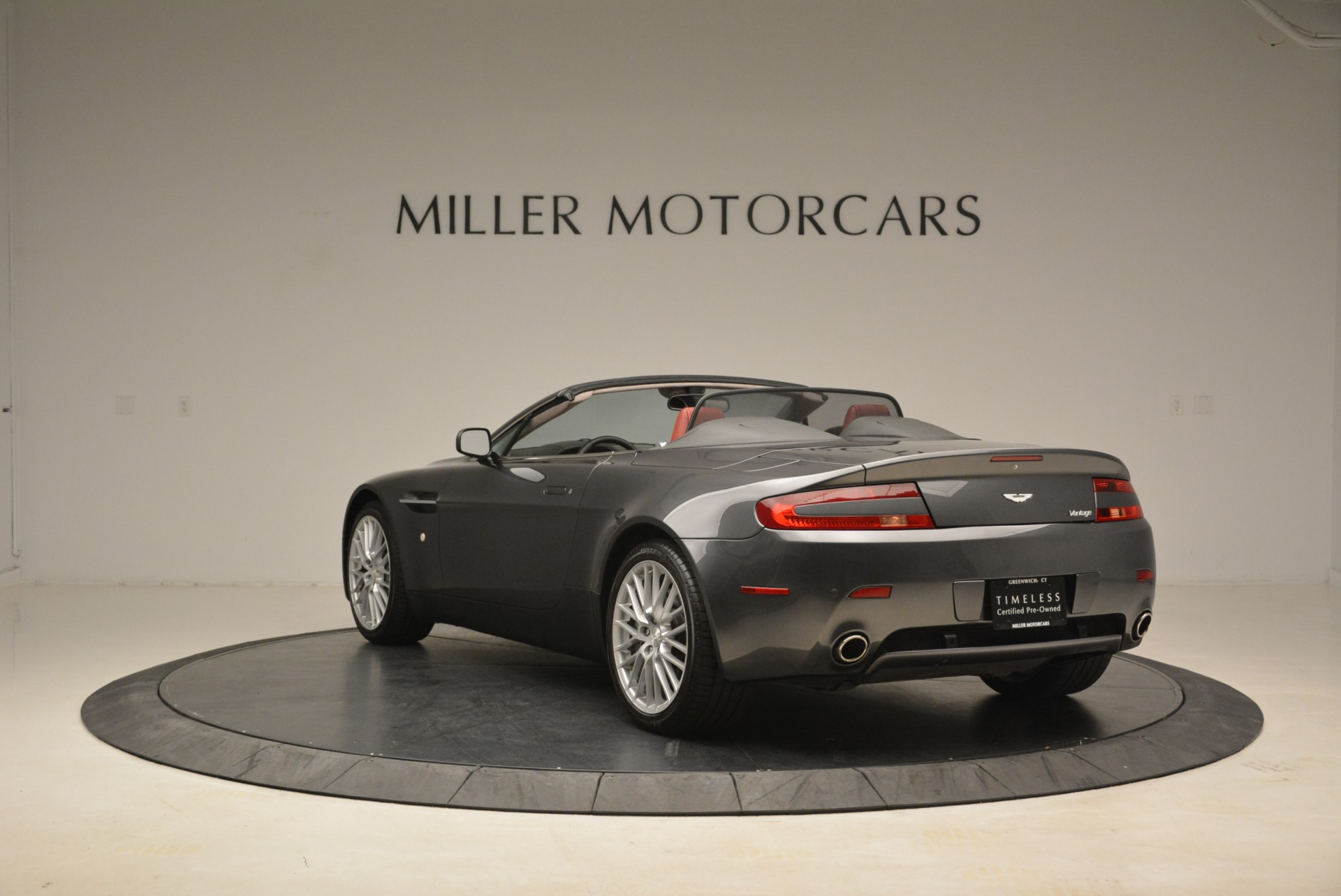 Used 2009 Aston Martin V8 Vantage Roadster For Sale In Greenwich, CT. Alfa Romeo of Greenwich, 7333 2123_p5