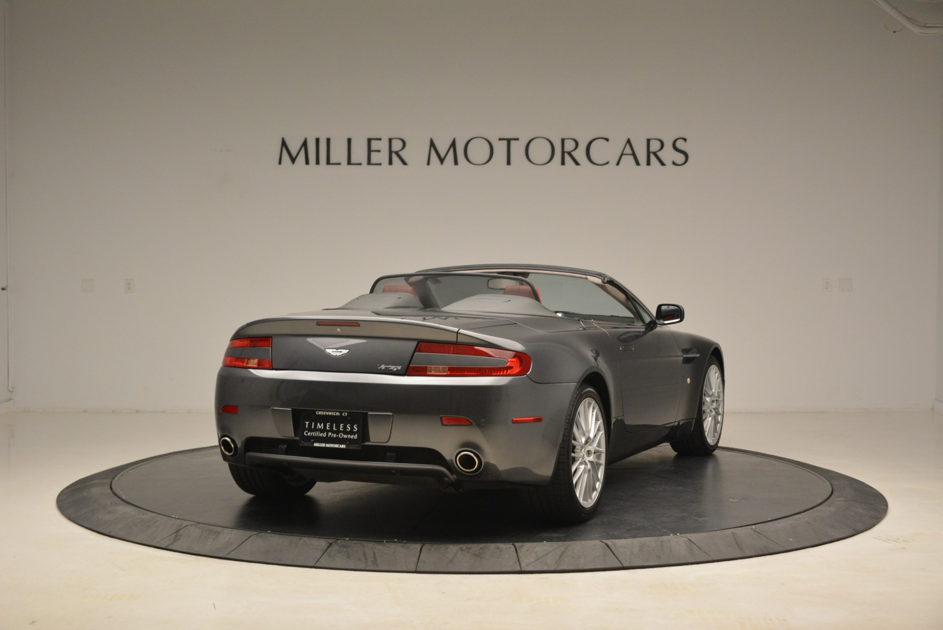 Used 2009 Aston Martin V8 Vantage Roadster For Sale In Greenwich, CT. Alfa Romeo of Greenwich, 7333 2123_p7