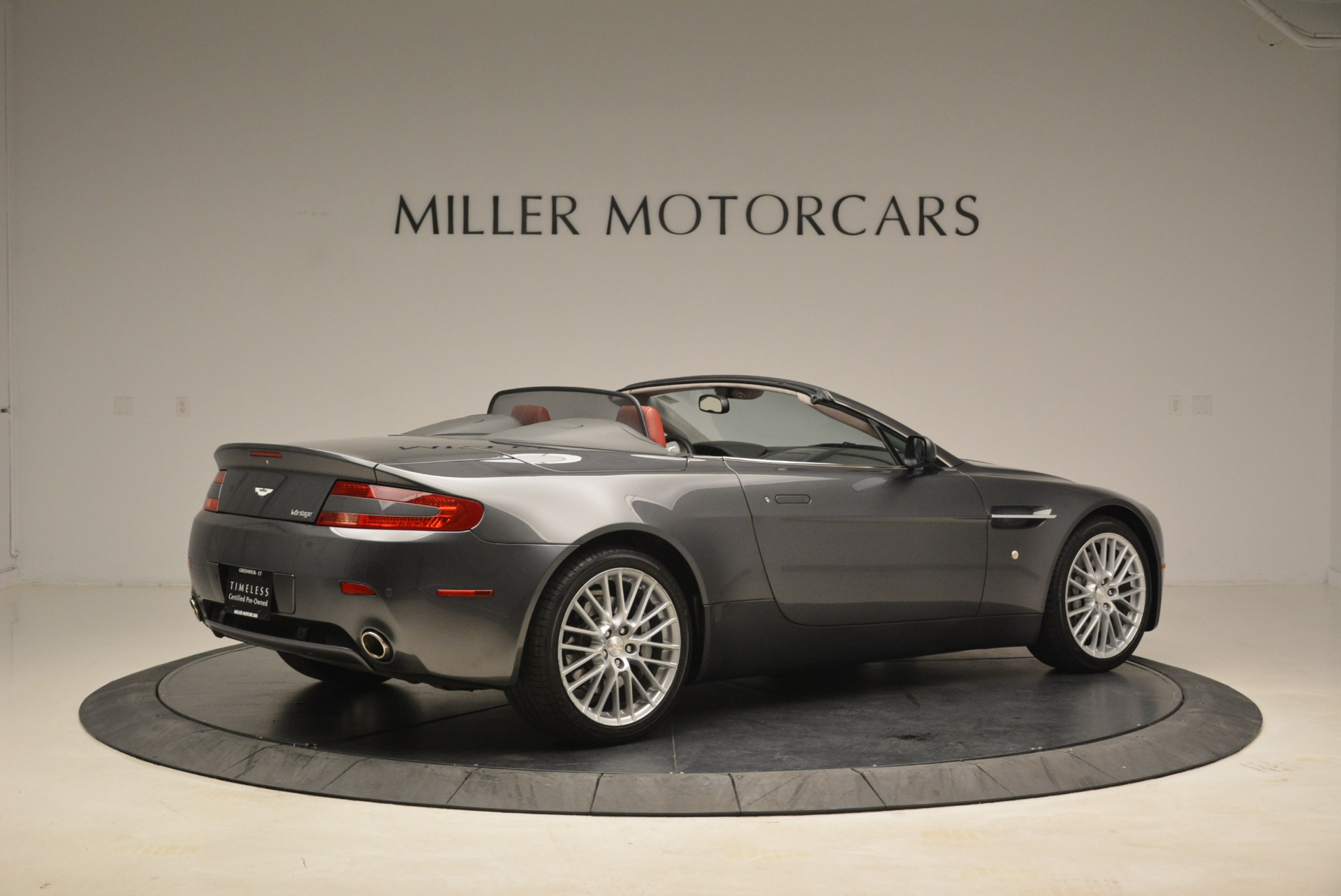 Used 2009 Aston Martin V8 Vantage Roadster For Sale In Greenwich, CT. Alfa Romeo of Greenwich, 7333 2123_p8