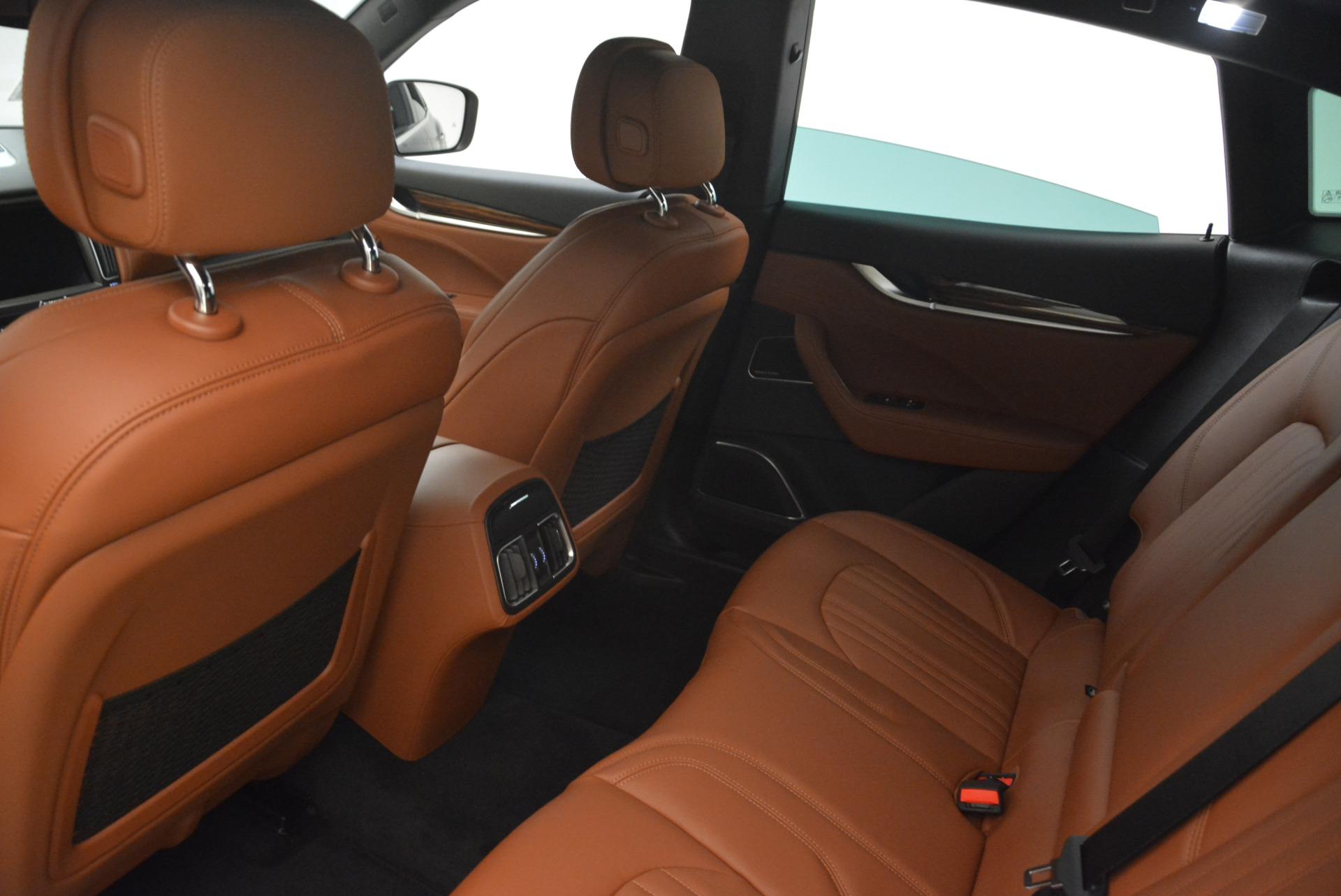 New 2018 Maserati Levante S Q4 GranLusso For Sale In Greenwich, CT. Alfa Romeo of Greenwich, M2077 2124_p17
