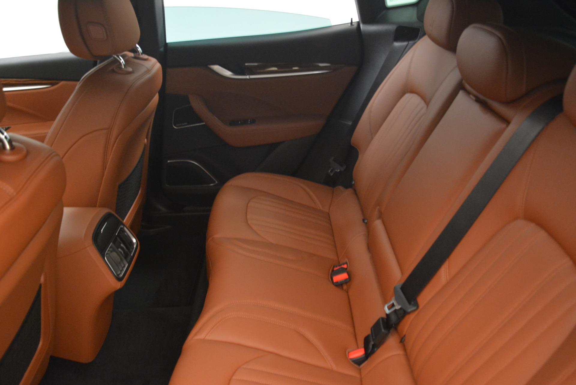 New 2018 Maserati Levante S Q4 GranLusso For Sale In Greenwich, CT. Alfa Romeo of Greenwich, M2077 2124_p18