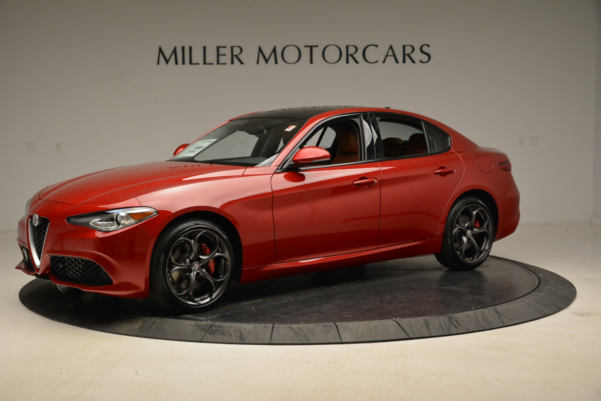 New 2018 Alfa Romeo Giulia Ti Sport Q4 For Sale In Greenwich, CT. Alfa Romeo of Greenwich, L365 2126_p2