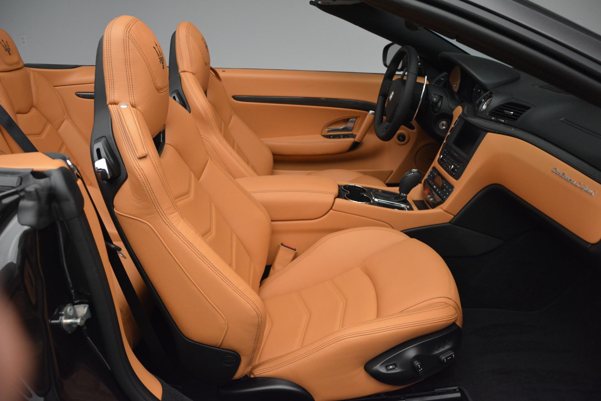 Used 2015 Maserati GranTurismo Sport Convertible For Sale In Greenwich, CT. Alfa Romeo of Greenwich, 7341 2129_p24