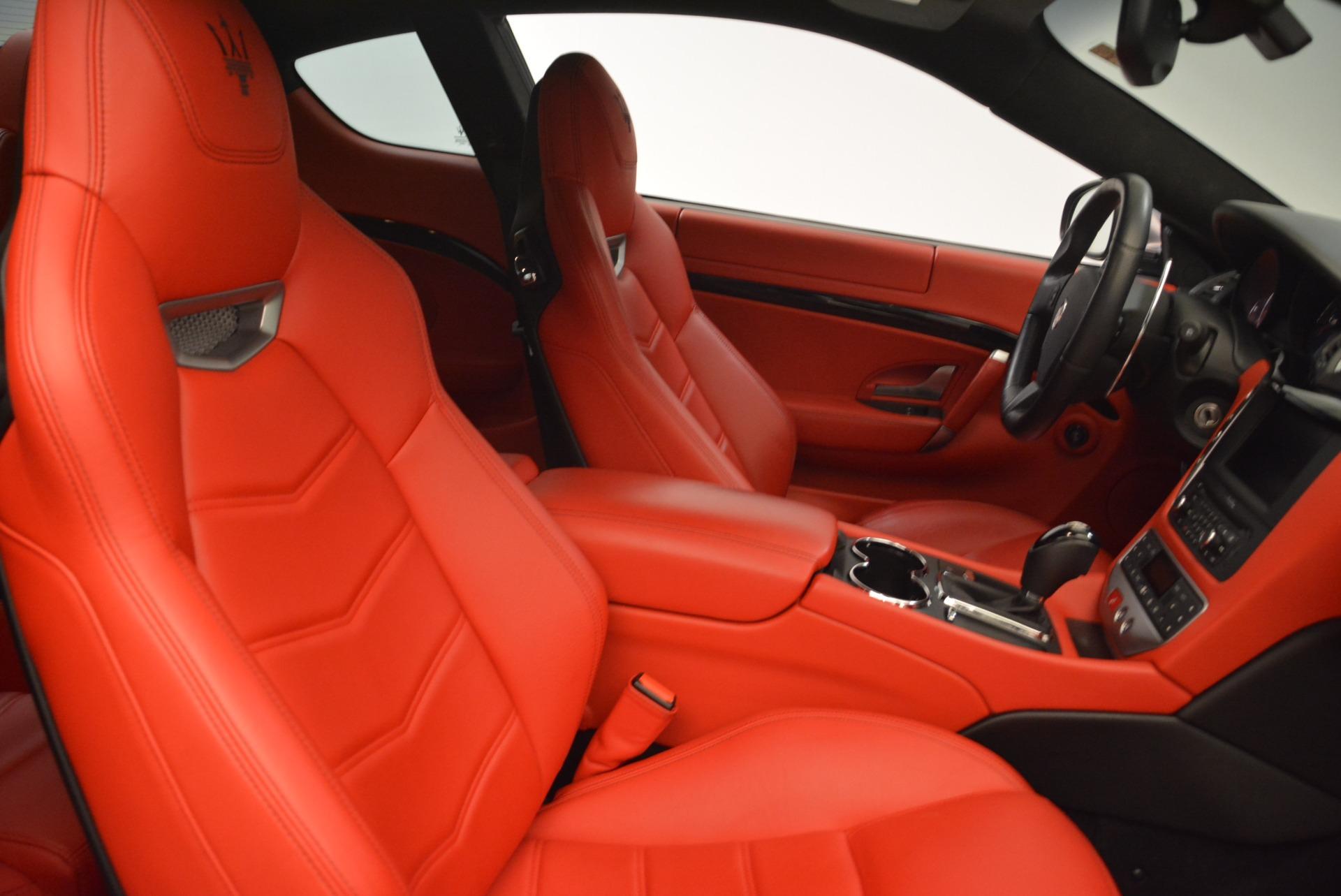 Used 2014 Maserati GranTurismo Sport For Sale In Greenwich, CT. Alfa Romeo of Greenwich, 7312A 2131_p18