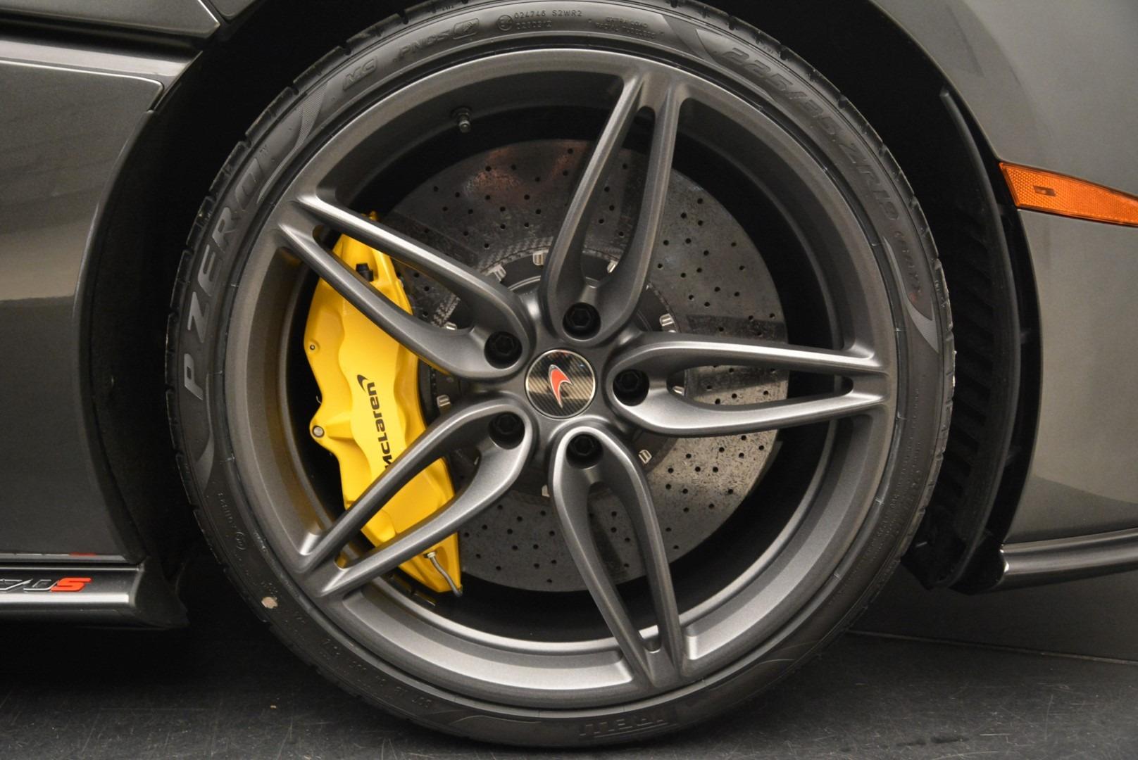 New 2018 McLaren 570S Spider For Sale In Greenwich, CT. Alfa Romeo of Greenwich, MC350 2137_p29