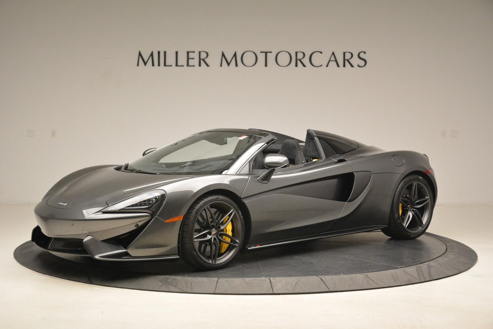 New 2018 McLaren 570S Spider For Sale In Greenwich, CT. Alfa Romeo of Greenwich, MC350 2137_p2
