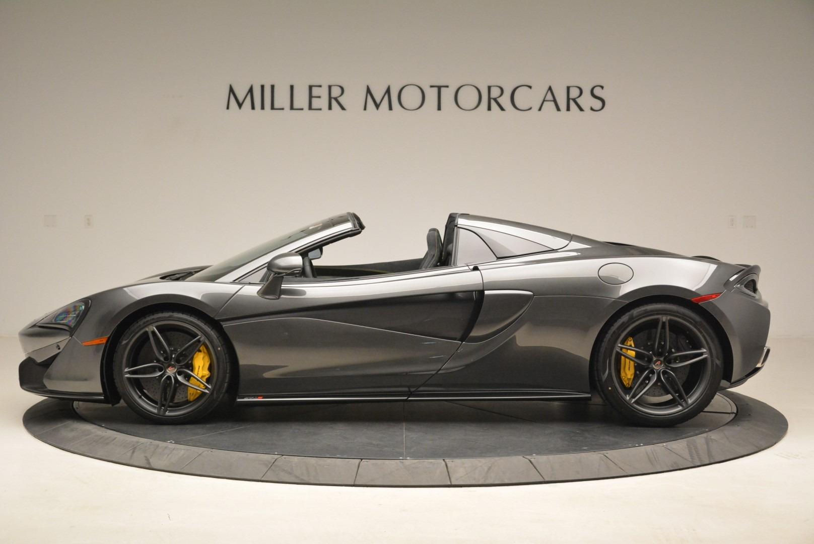 New 2018 McLaren 570S Spider For Sale In Greenwich, CT. Alfa Romeo of Greenwich, MC350 2137_p3