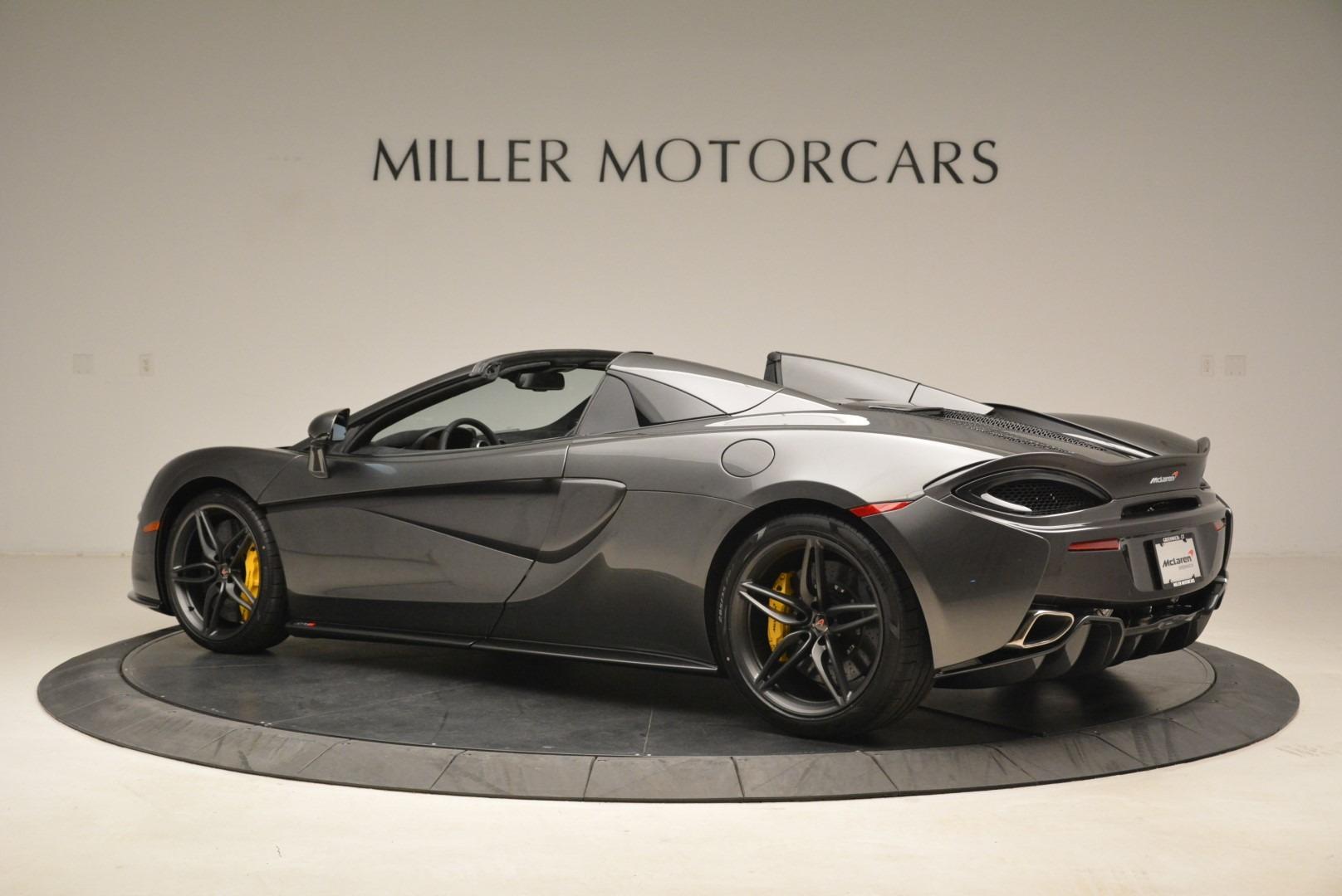 New 2018 McLaren 570S Spider For Sale In Greenwich, CT. Alfa Romeo of Greenwich, MC350 2137_p4