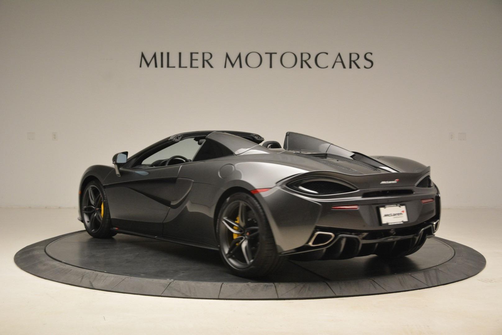 New 2018 McLaren 570S Spider For Sale In Greenwich, CT. Alfa Romeo of Greenwich, MC350 2137_p5